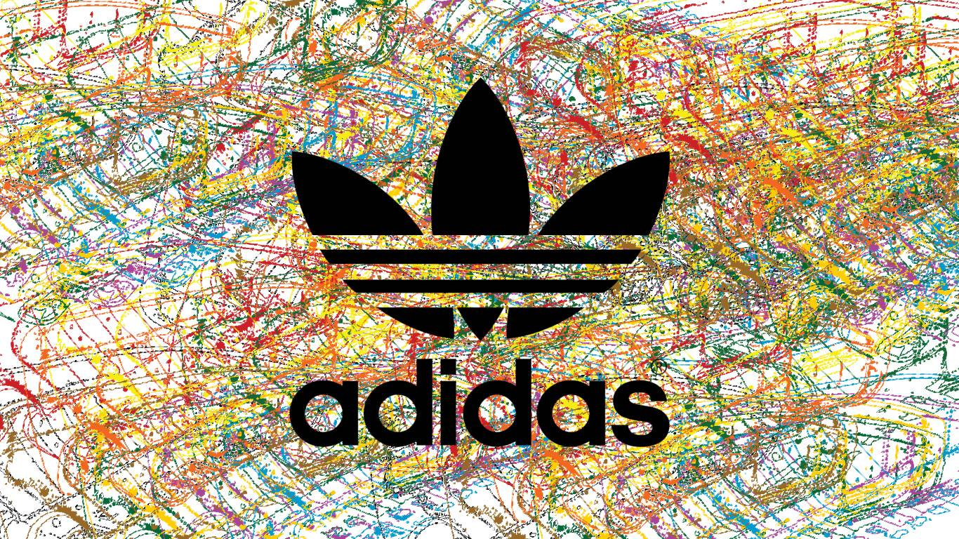 adidas black wallpaper, adidas iphone background