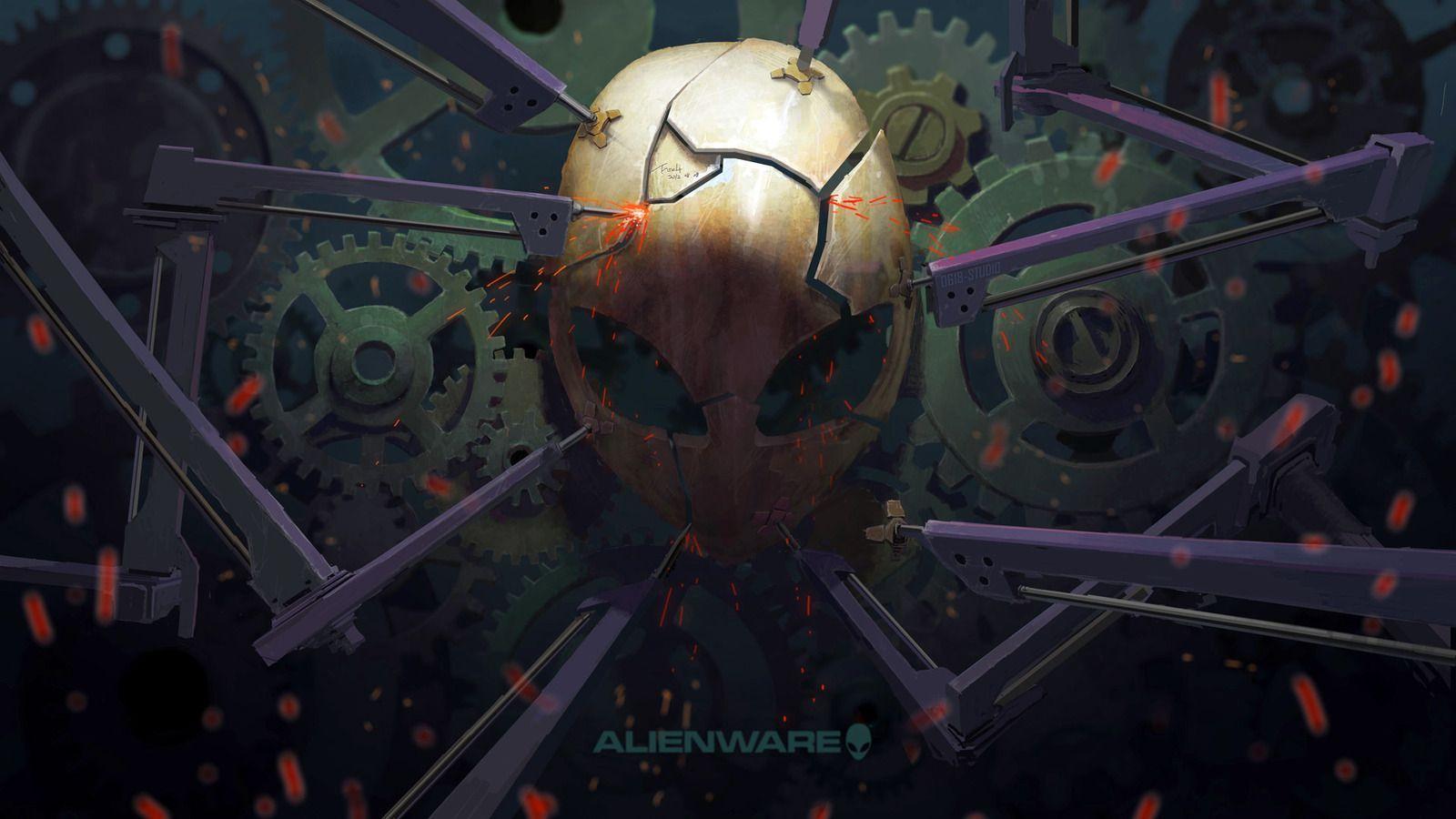 4k alienware