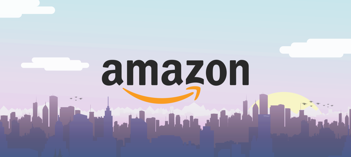 amazon logo wallpaper
