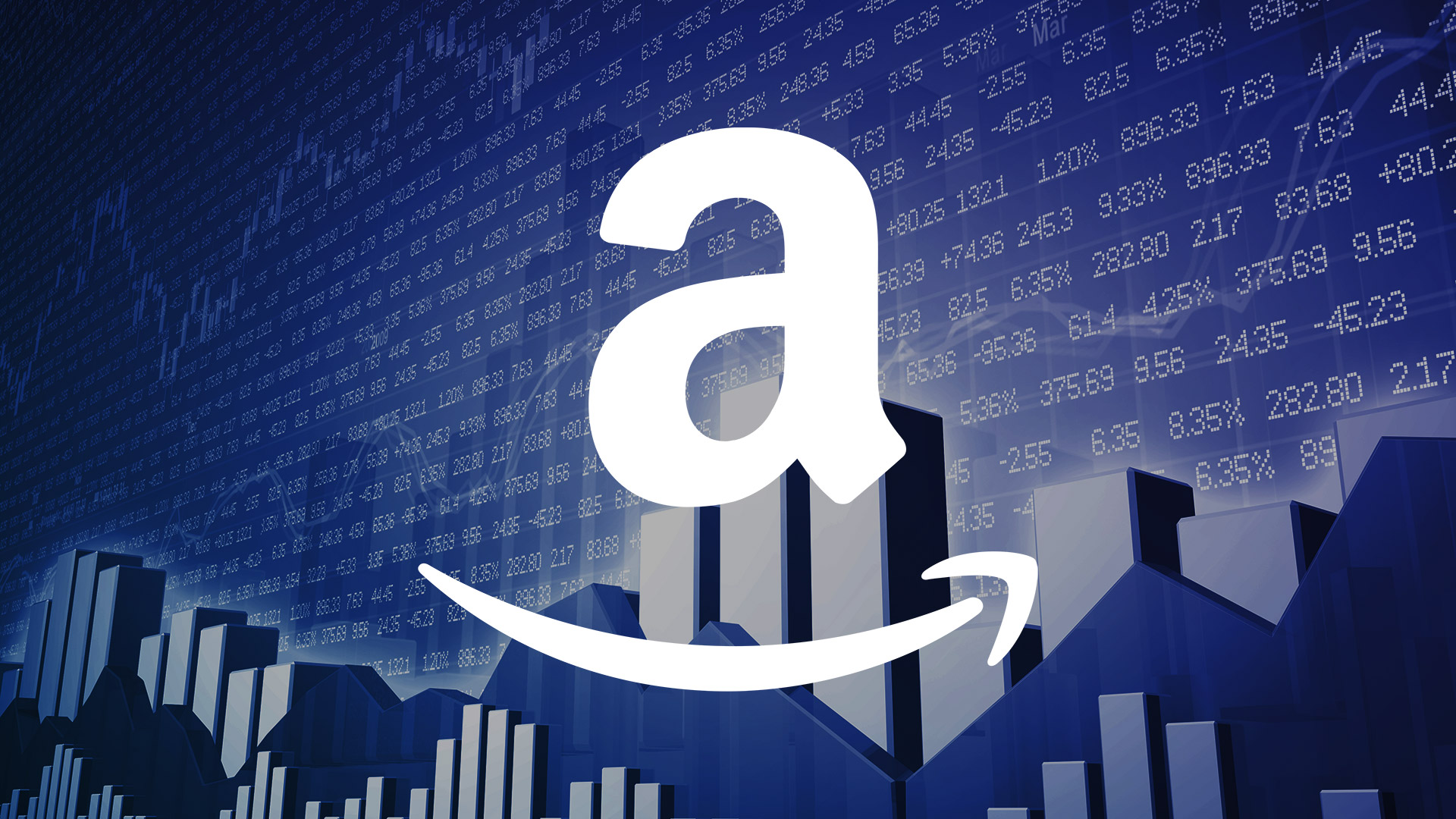 amazon logo black background