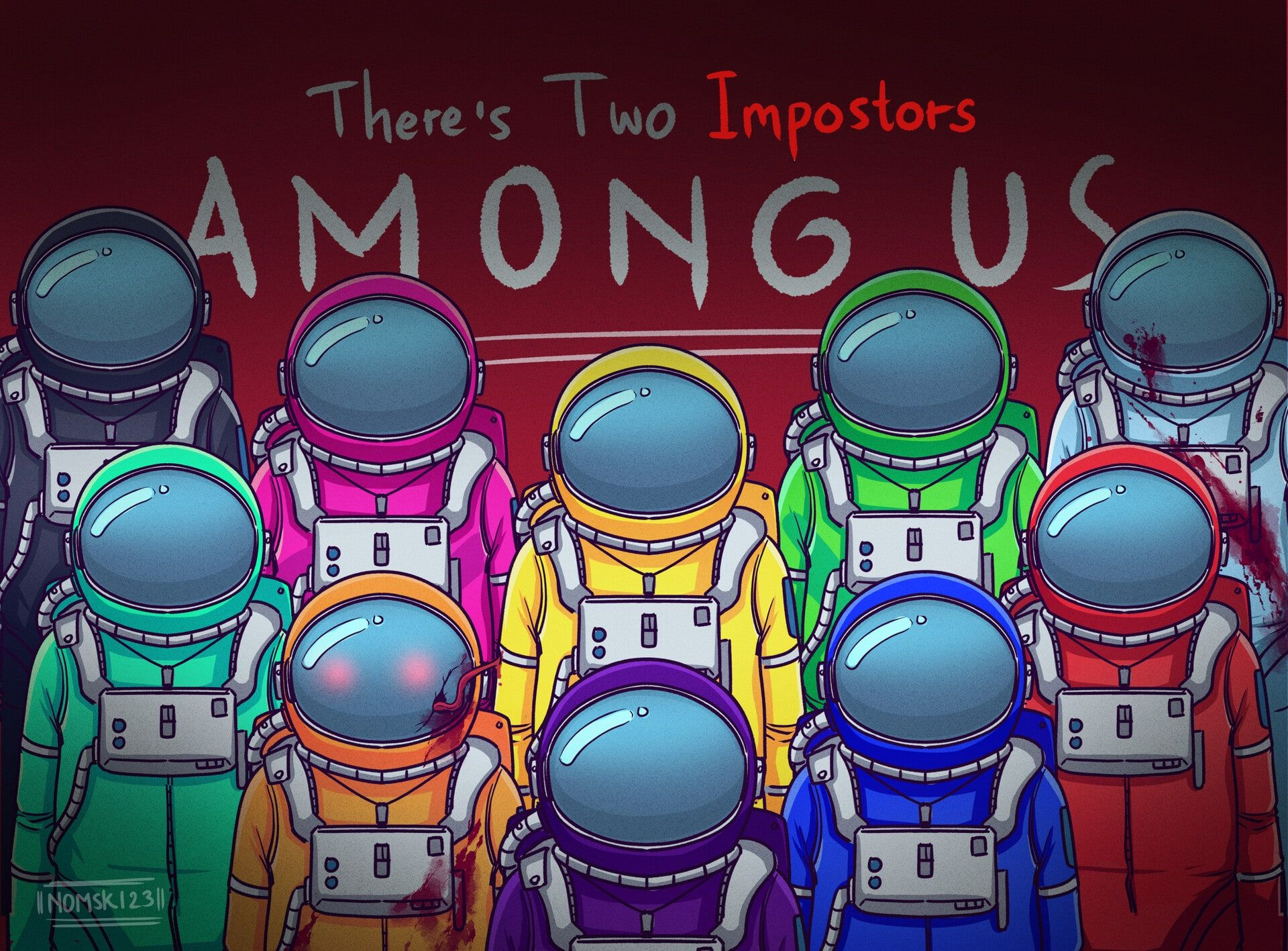 among us wallpaper download