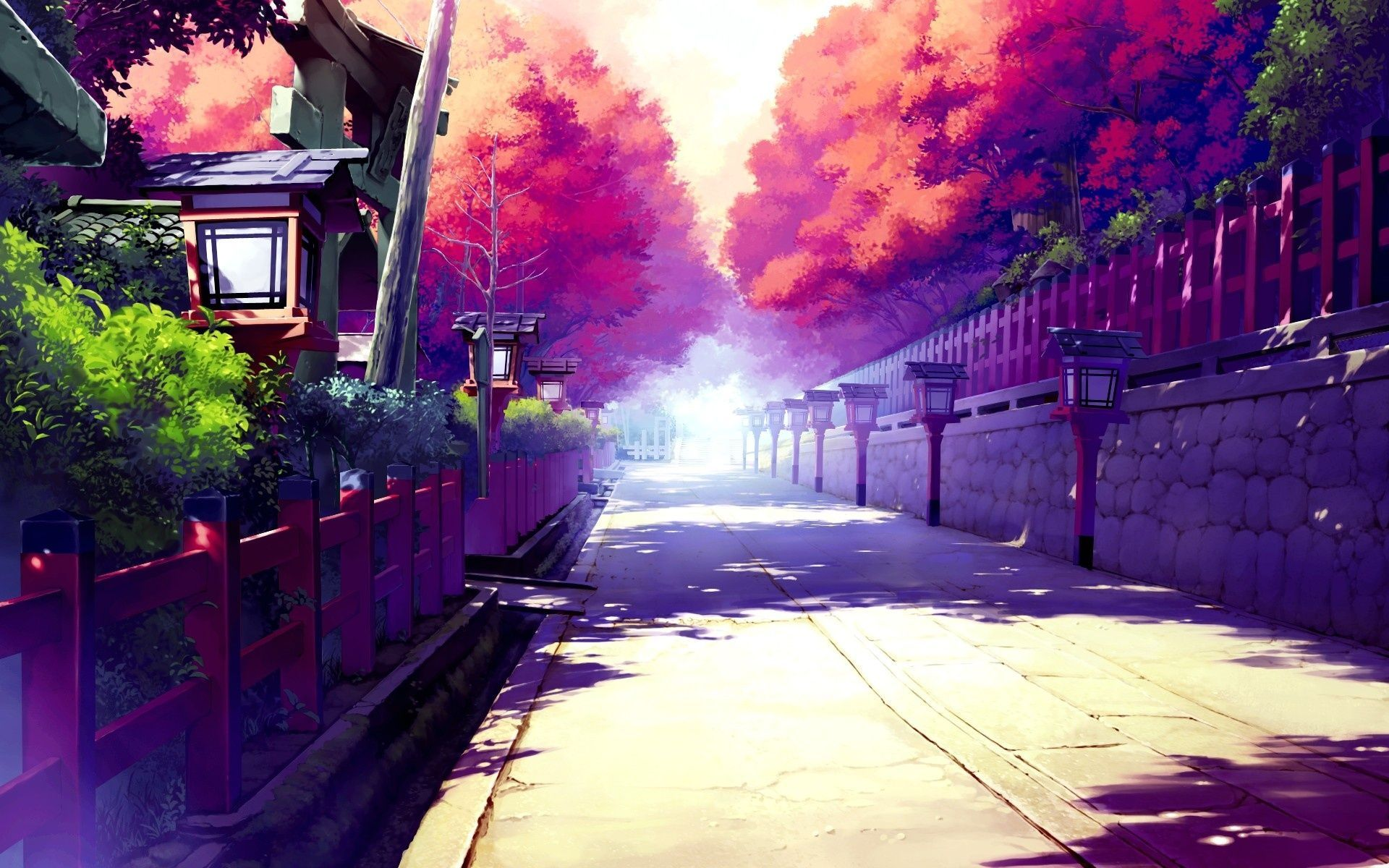 anime wallpaper scenery