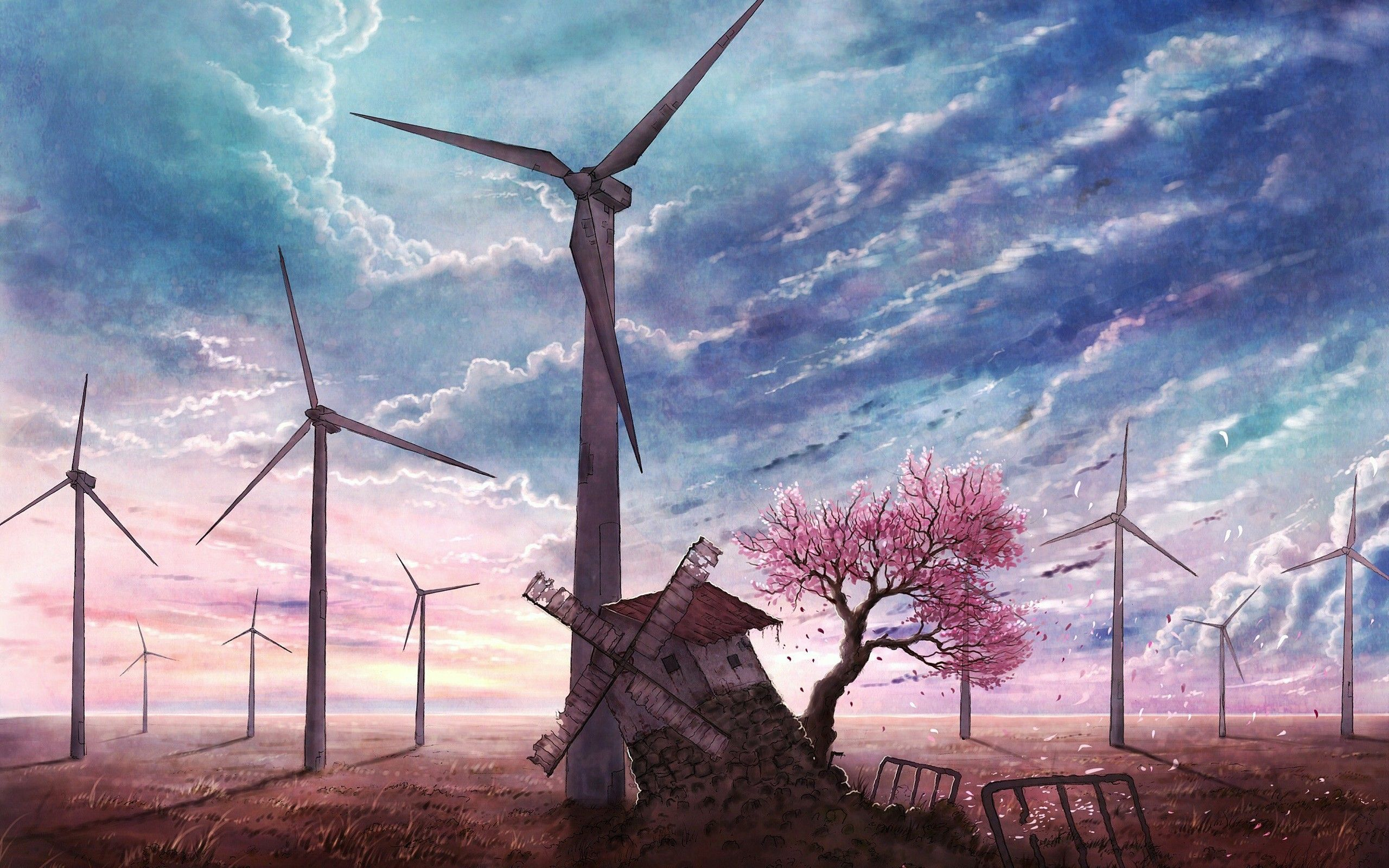 anime landscape wallpapers