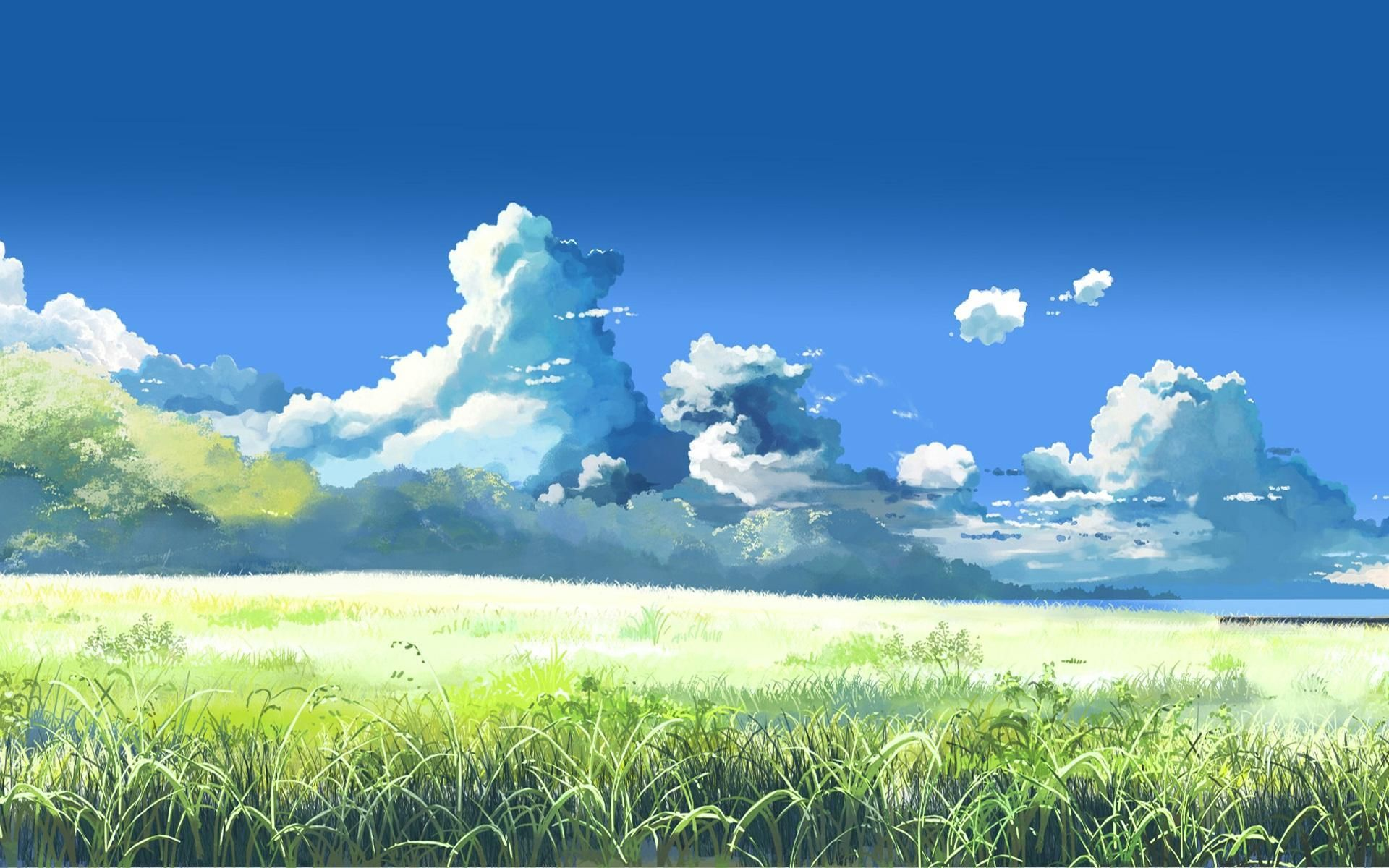 scenic anime wallpaper