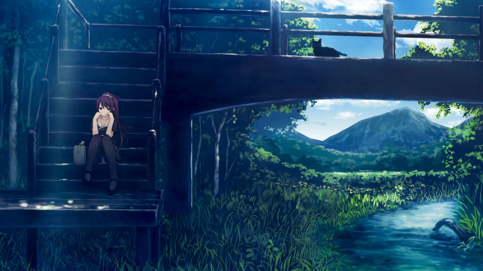anime backgrounds scenery