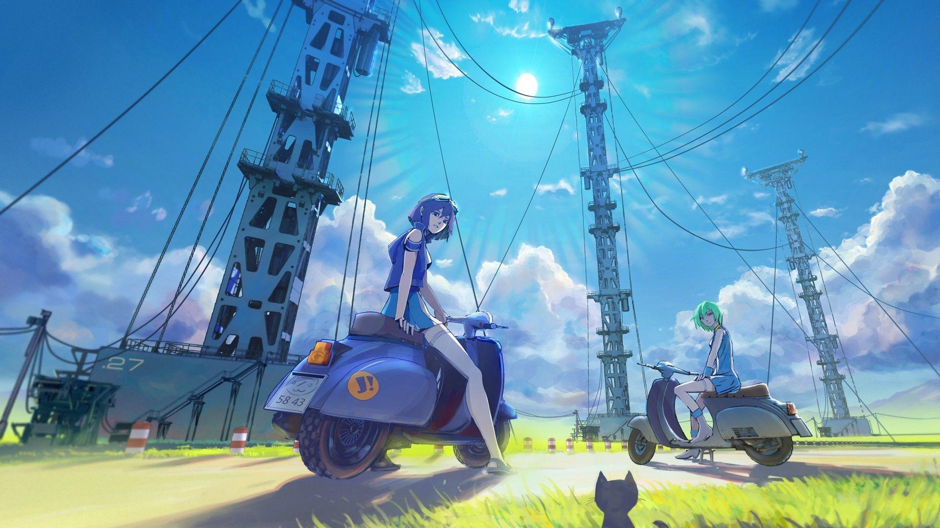 anime scenery wallpaper 1080p