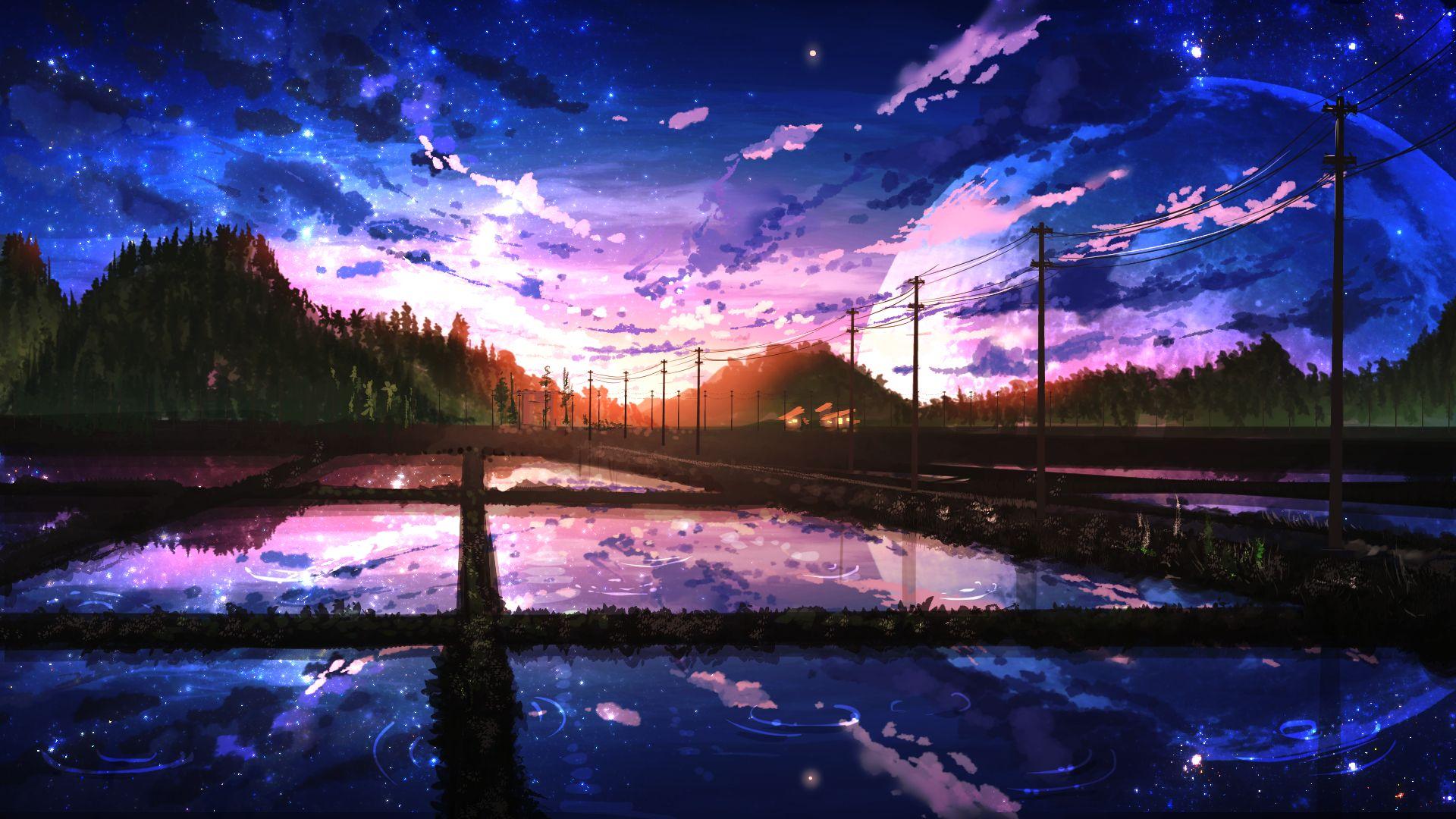 anime scenery desktop wallpaper