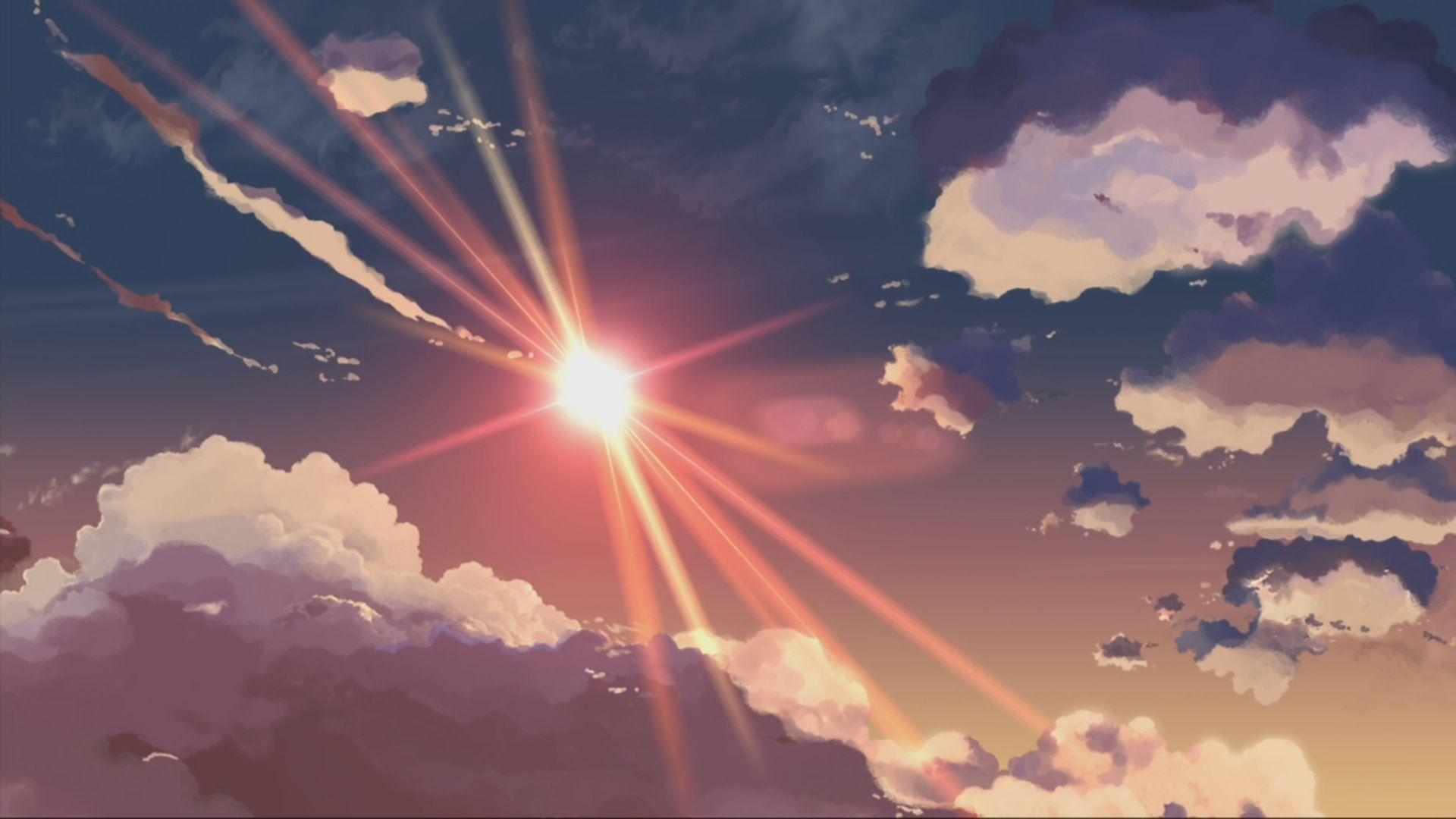 anime city scenery wallpaper