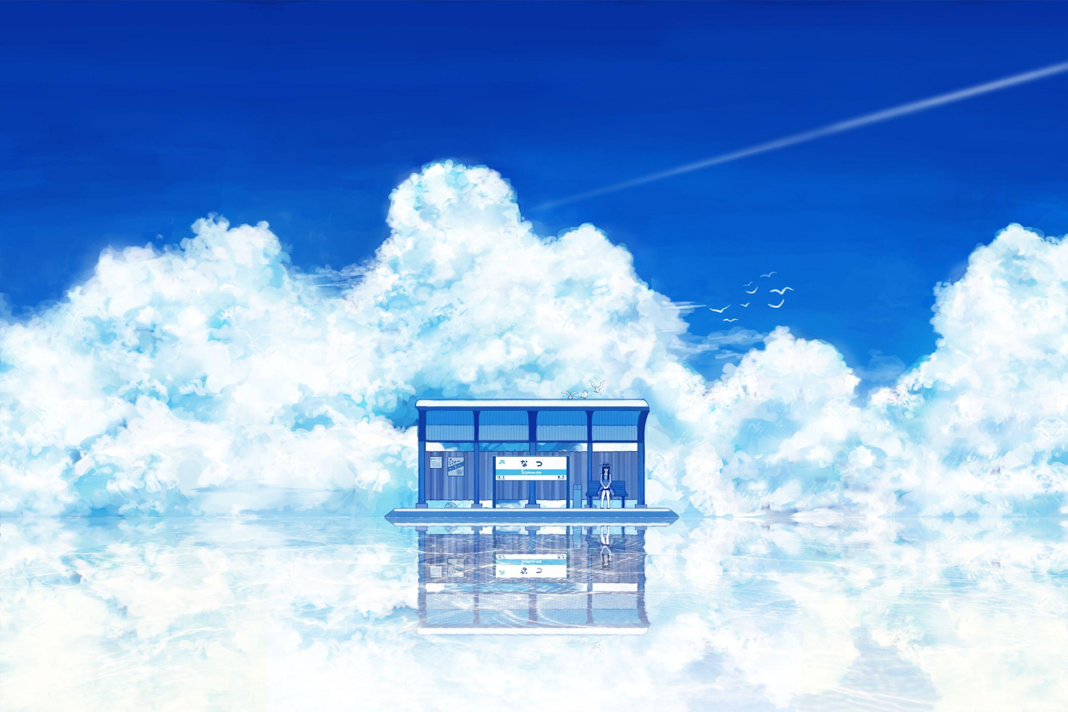 landscape anime wallpaper