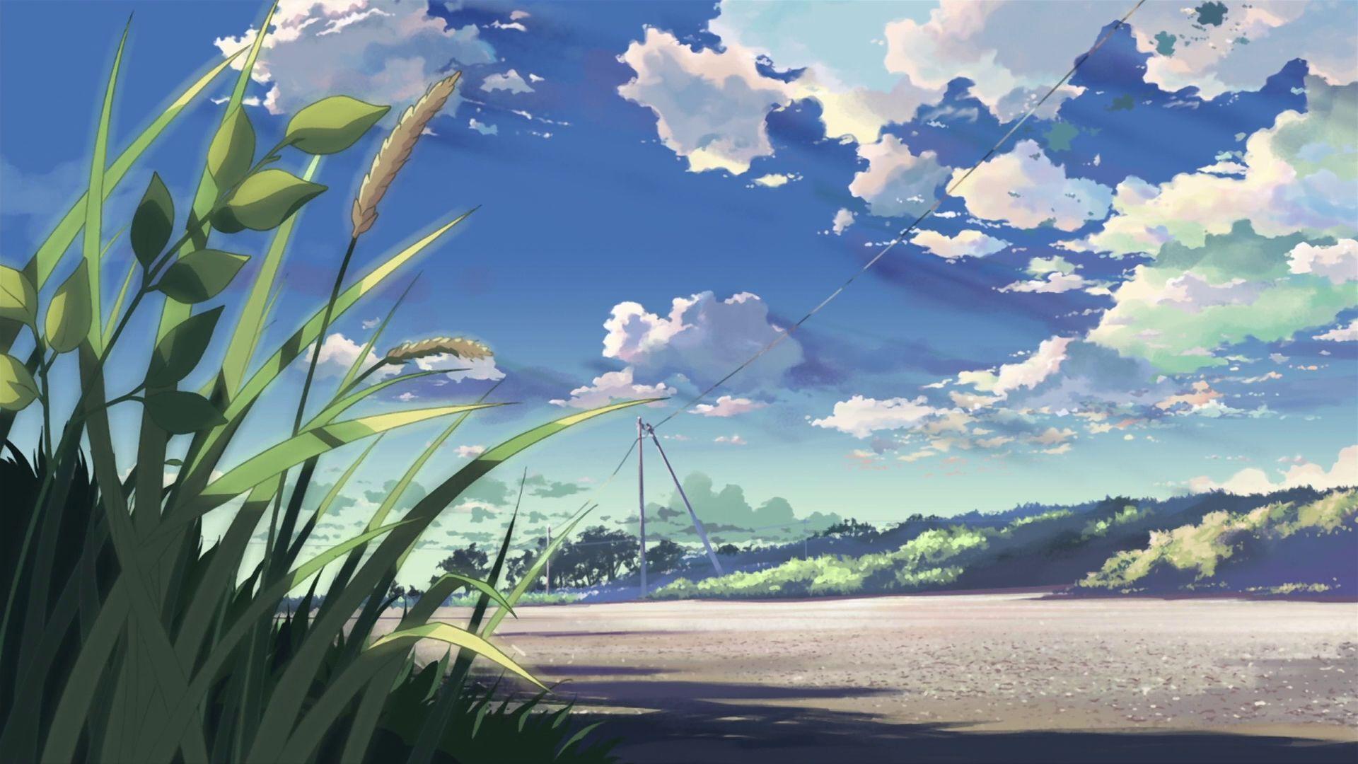 wallpaper anime scenery