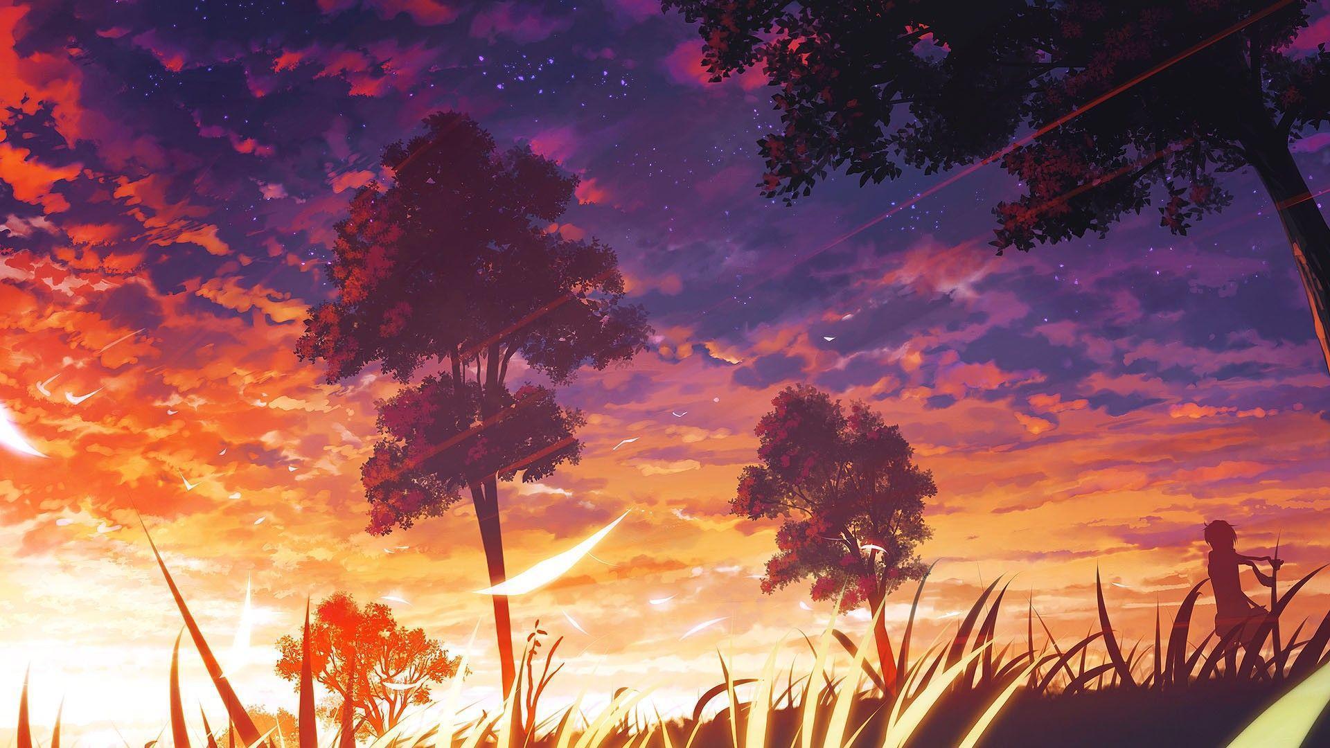 1920x1080 anime scenery