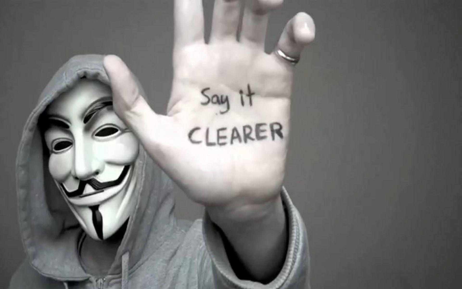 anonymous hd wallpaper
