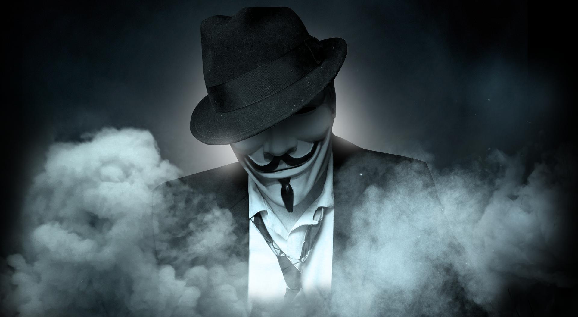 4k anonymous wallpaper