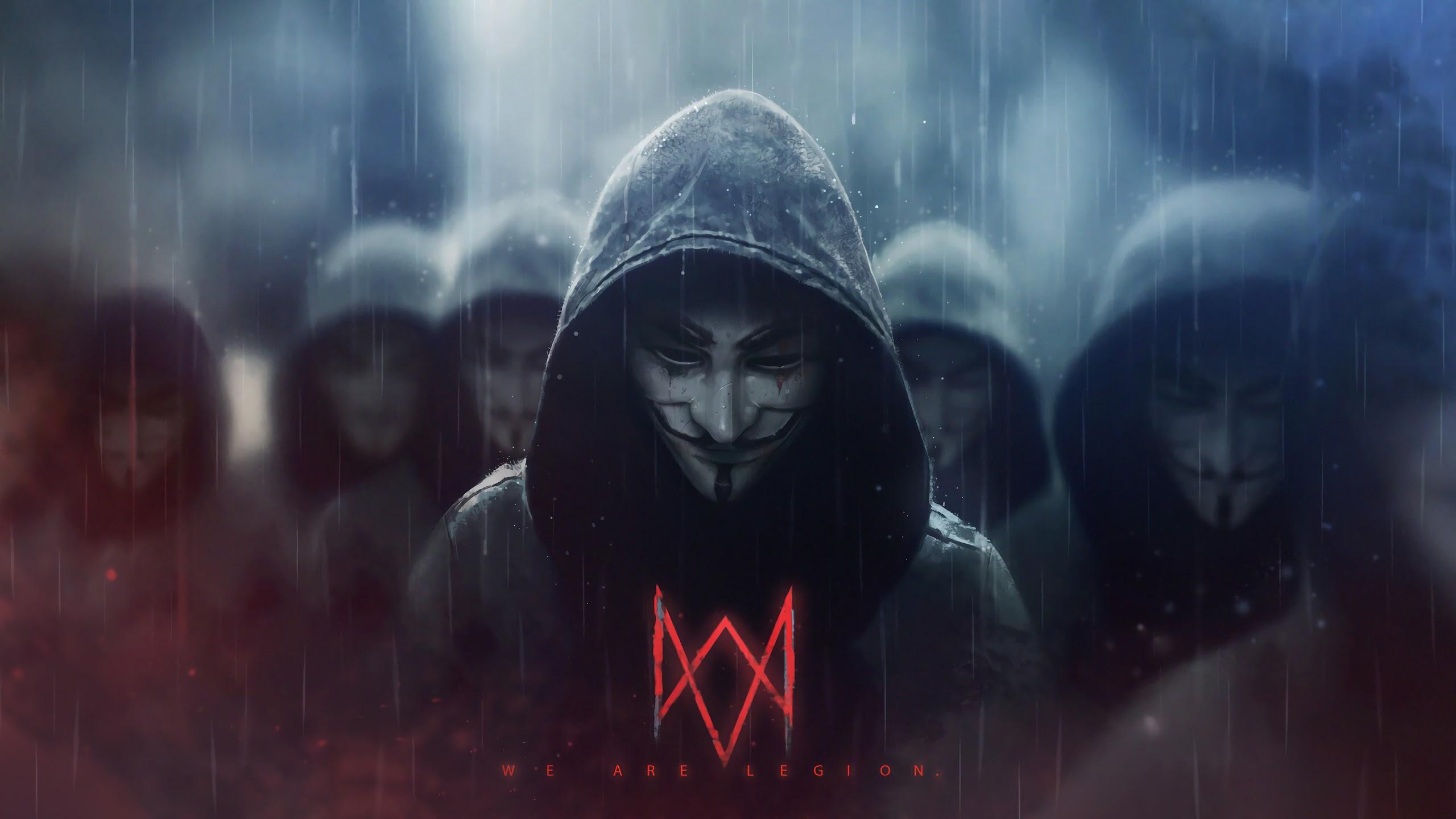anonymous logo wallpaper