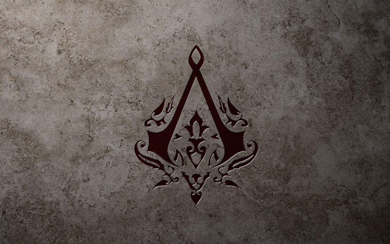 assassin's creed logo 4k wallpaper download