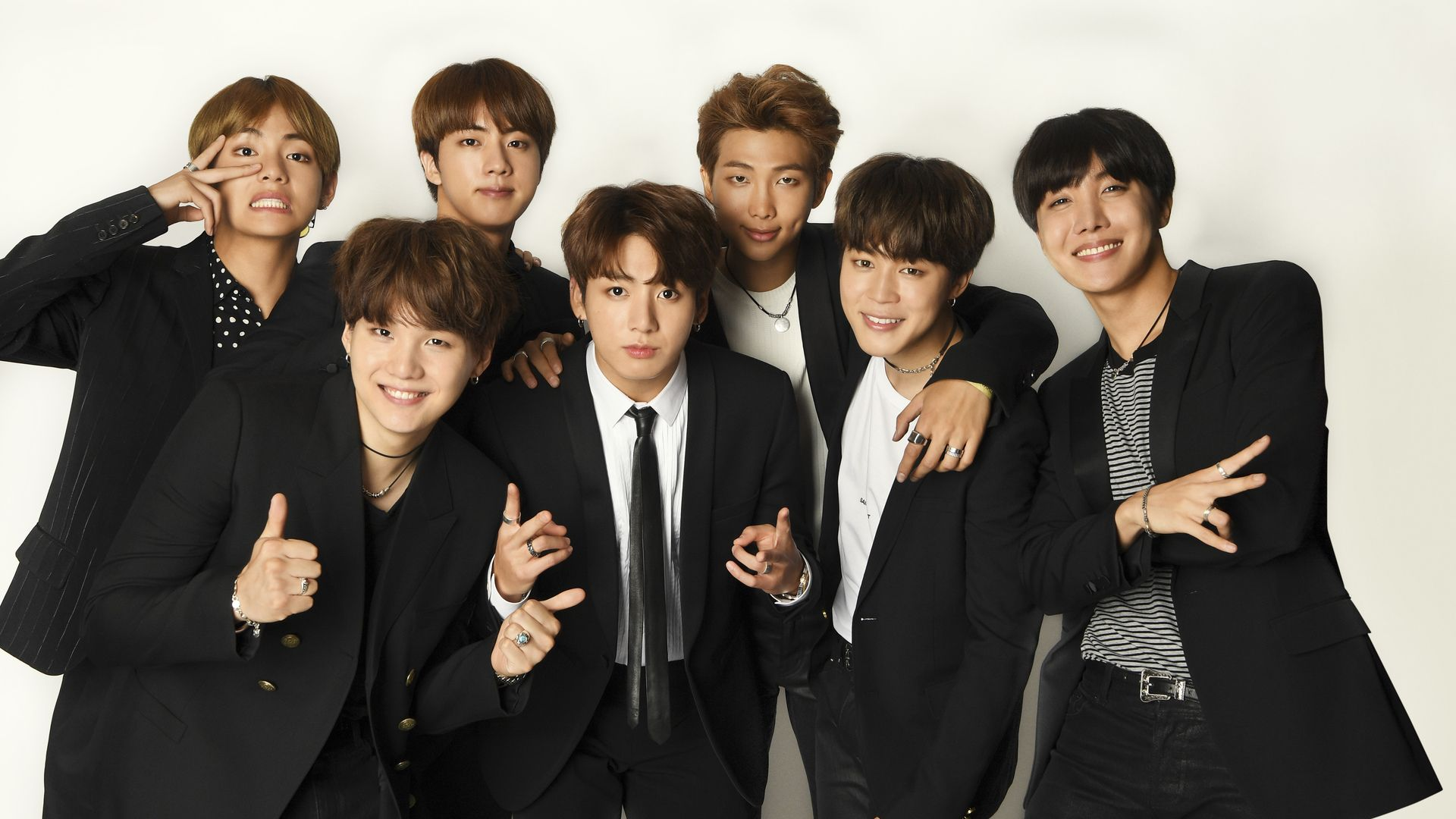 bts group photo, bts backgrounds