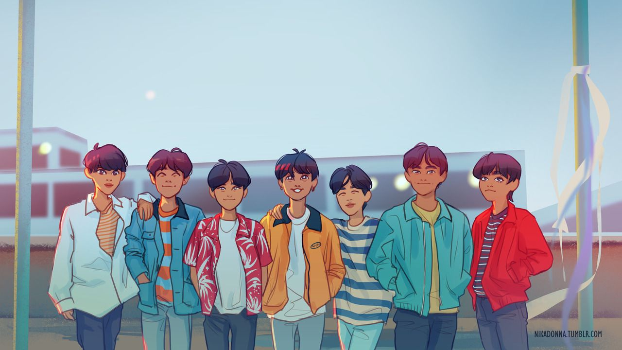 bts group wallpaper, bts hd photos