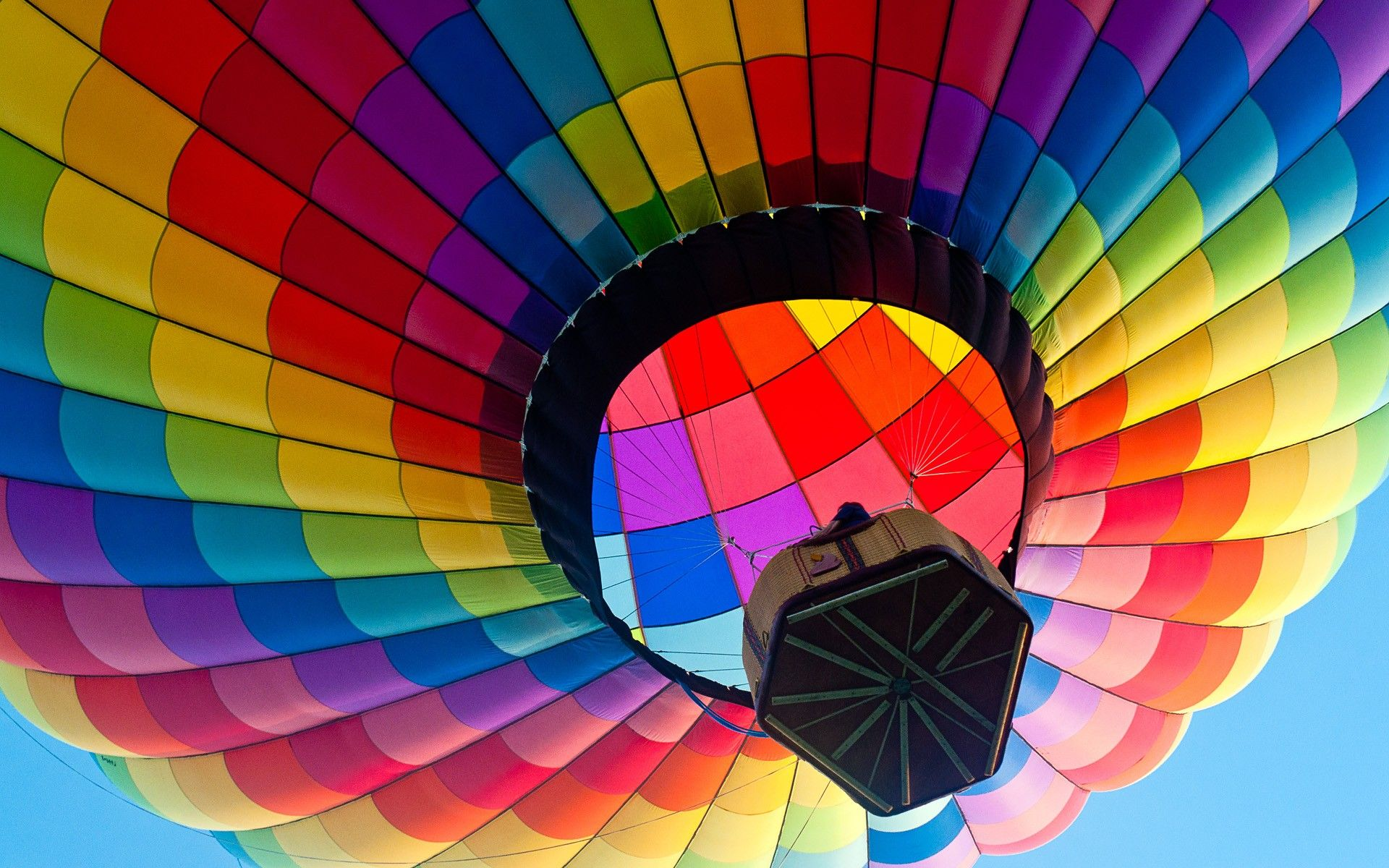 air balloon wallpaper