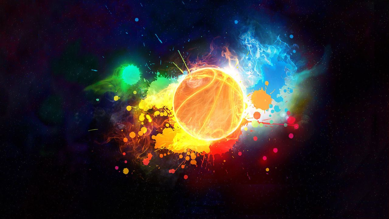 wall paper basketball