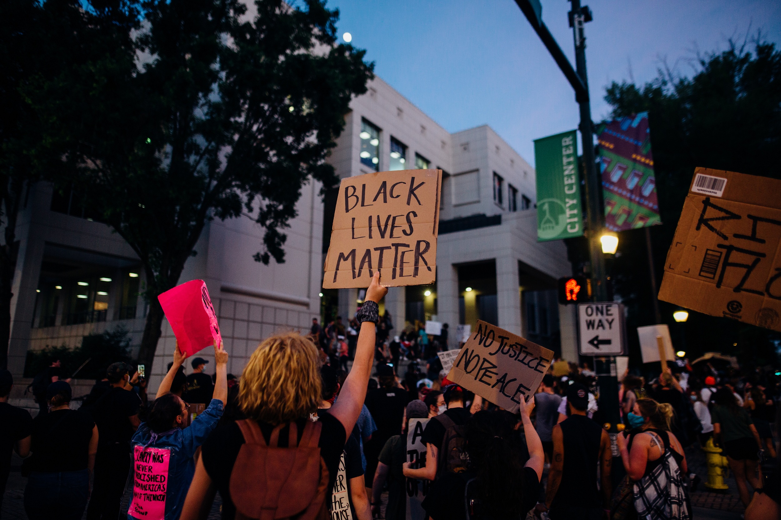 black lives matter background