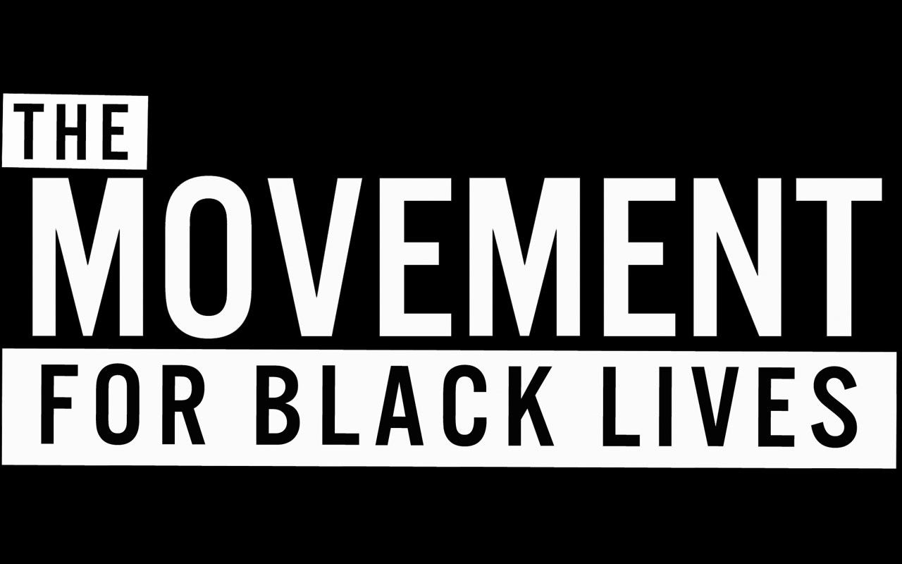 black lives matter banners