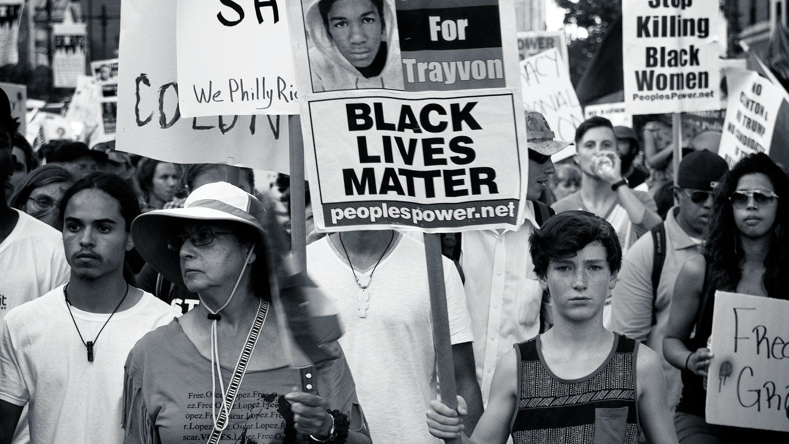 black lives matter collage