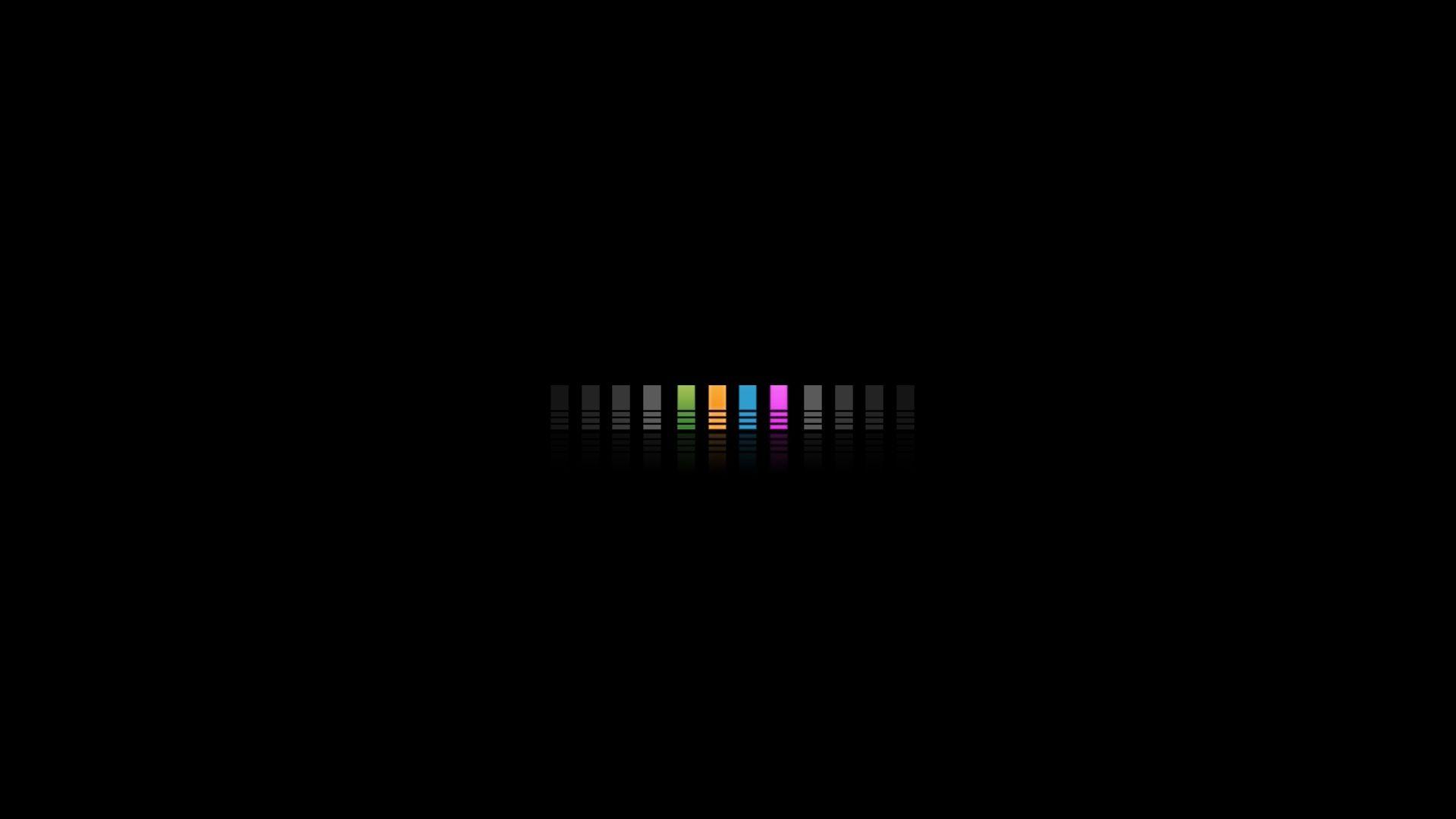 black desktop wallpaper hd