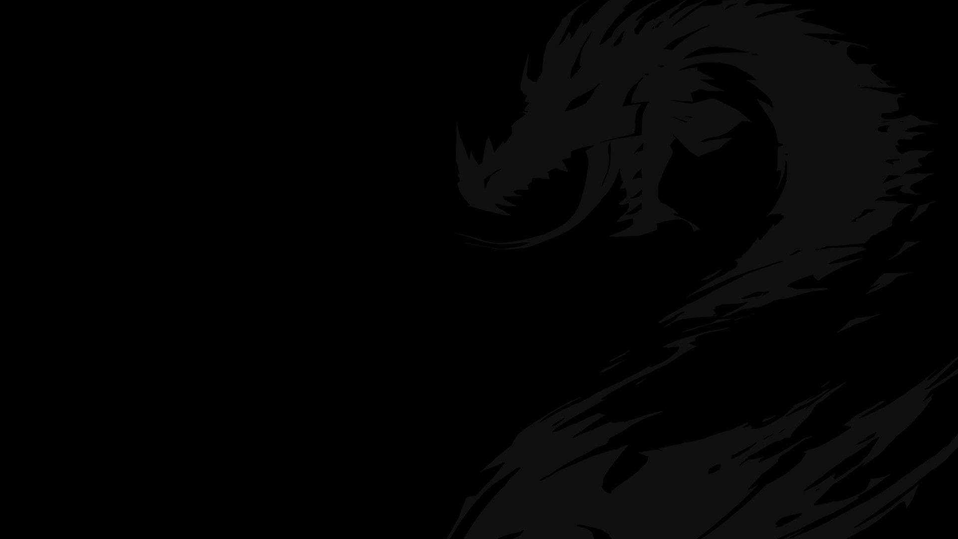 cool black desktop background