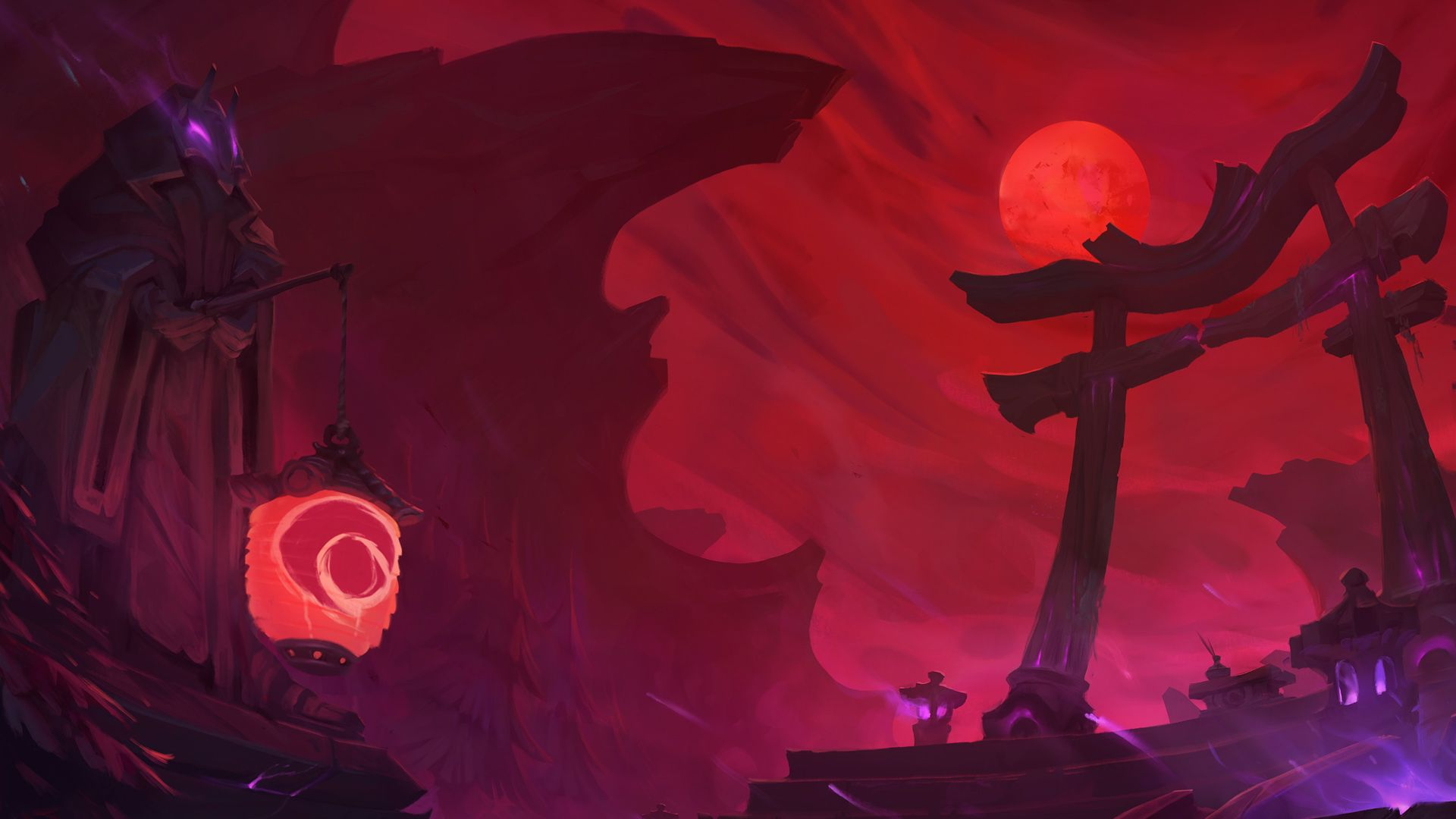 blood moon yasuo wallpaper, blood moon wallpaper hd