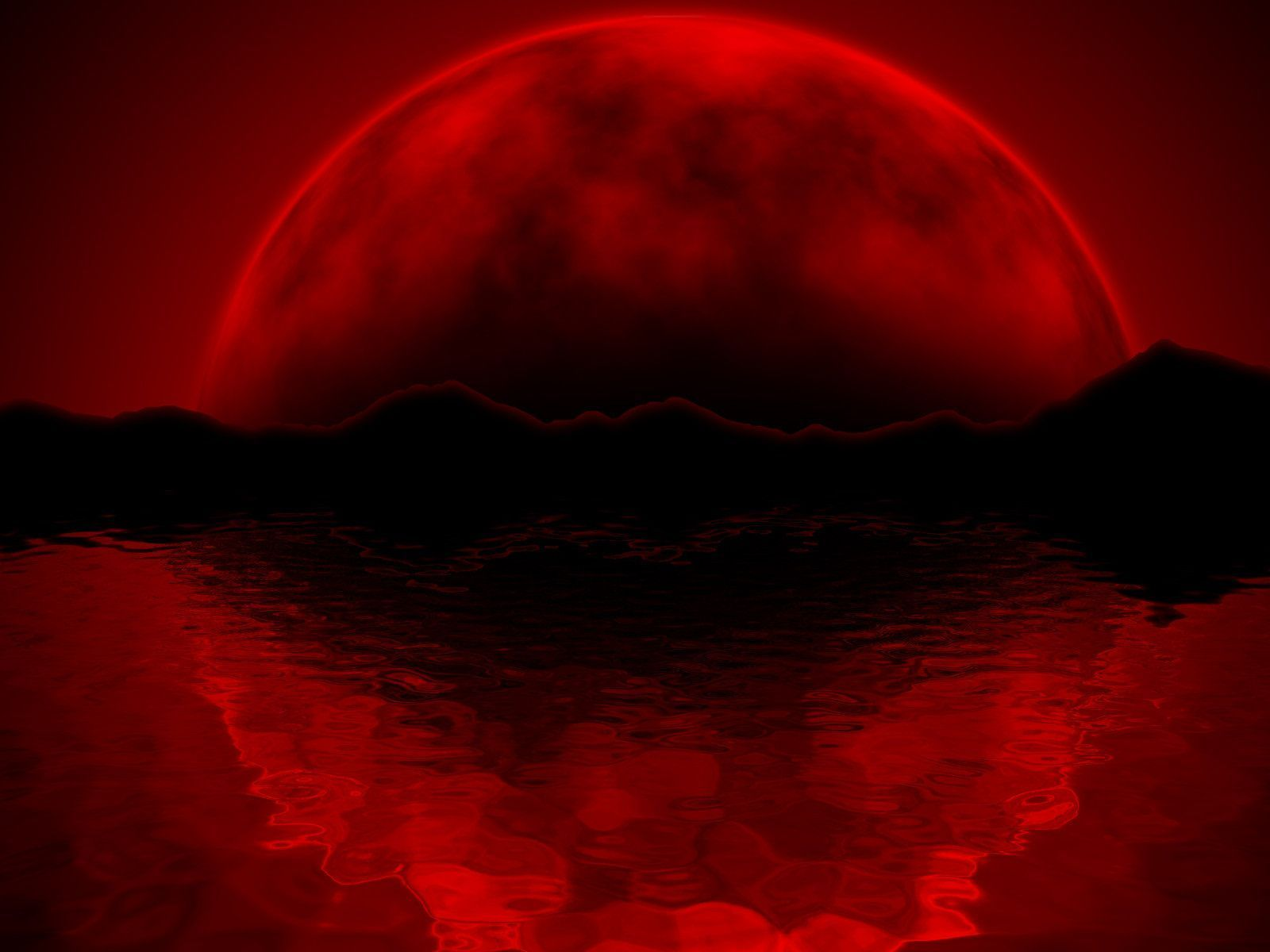 blood wallpaper, 1920x1080 moon wallpaper