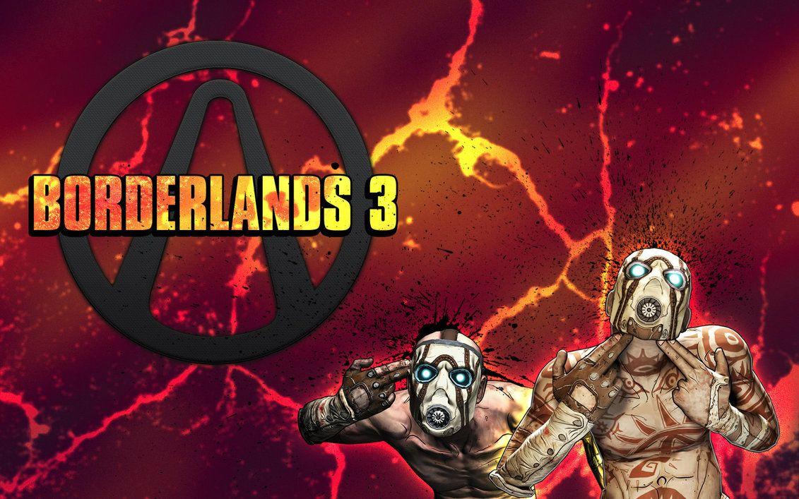 borderlands logo wallpaper