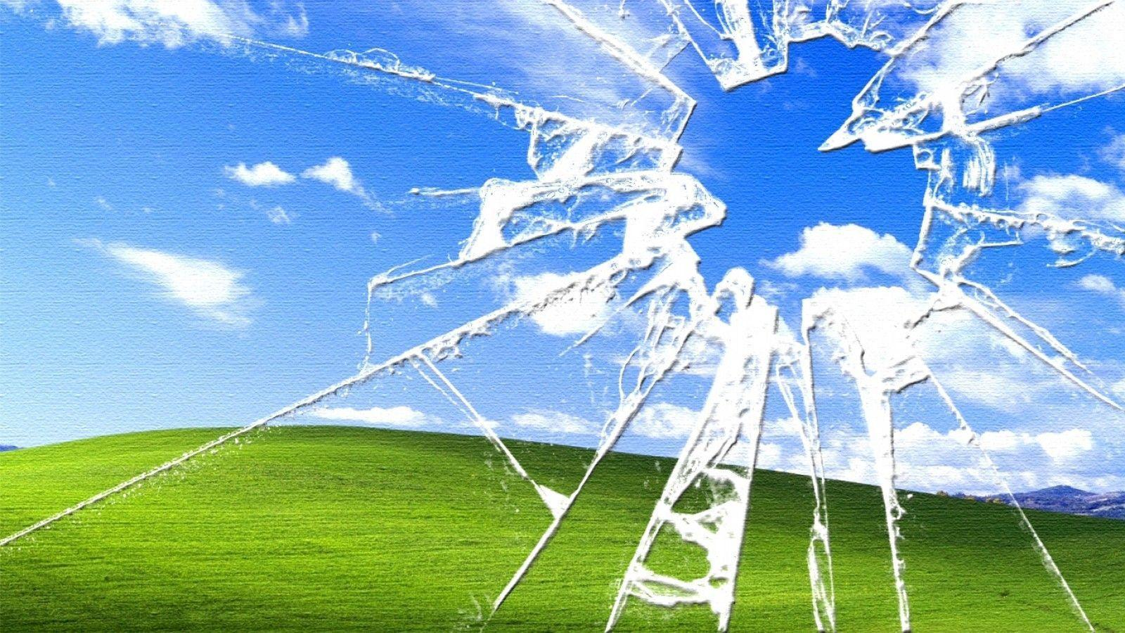 cracked screen background hd