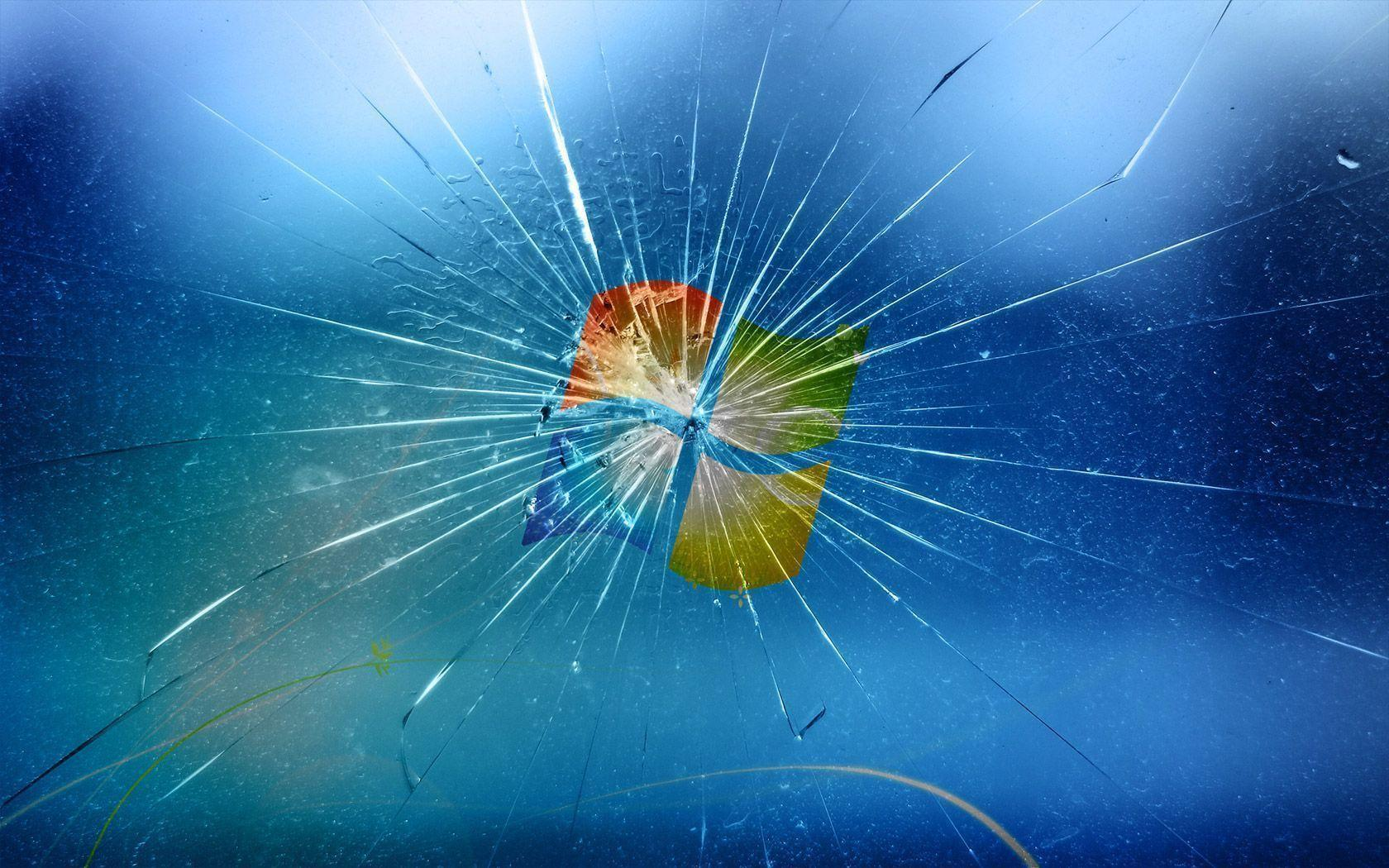 cracked screen wallpaper android