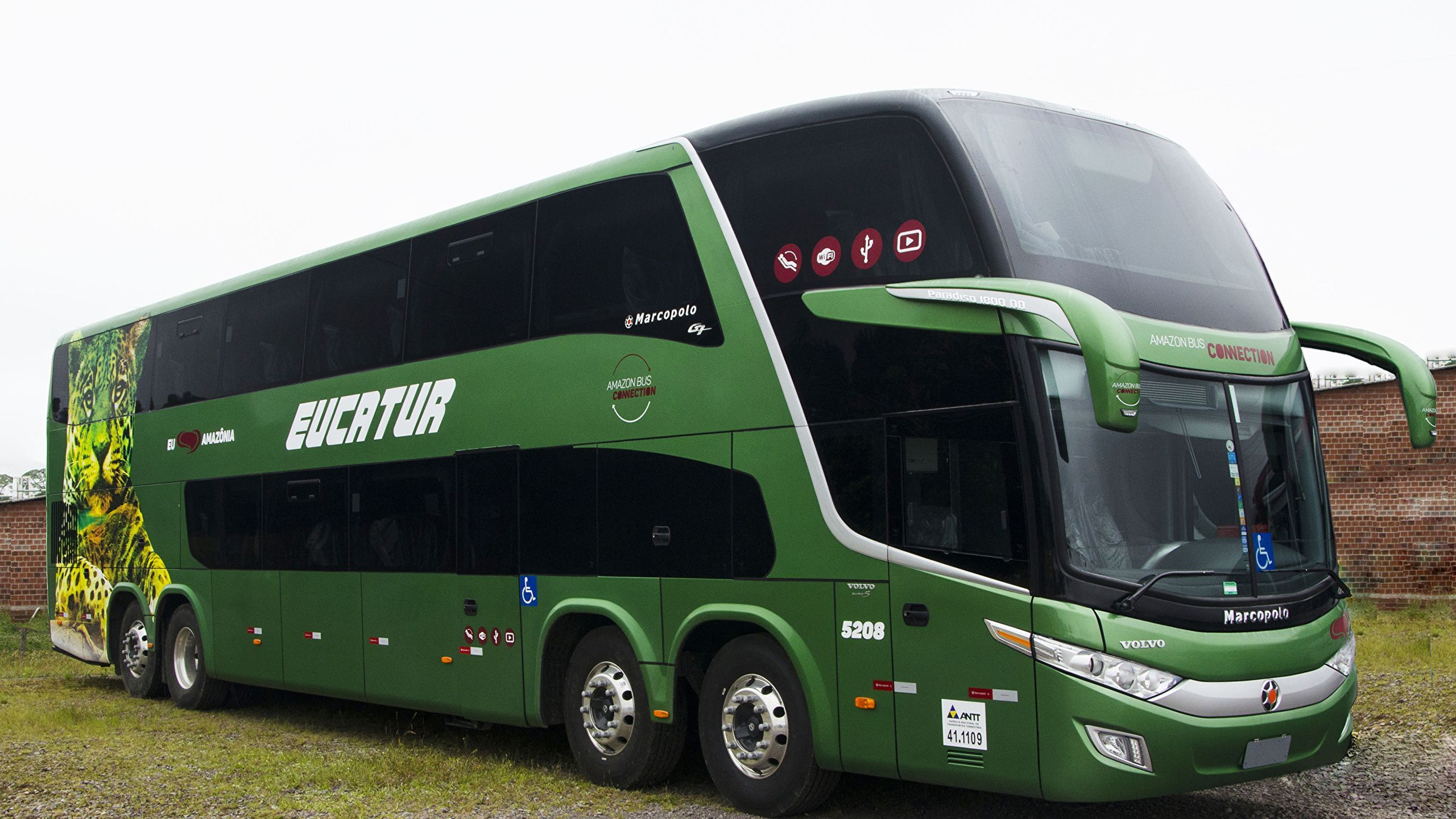 latest volvo bus image