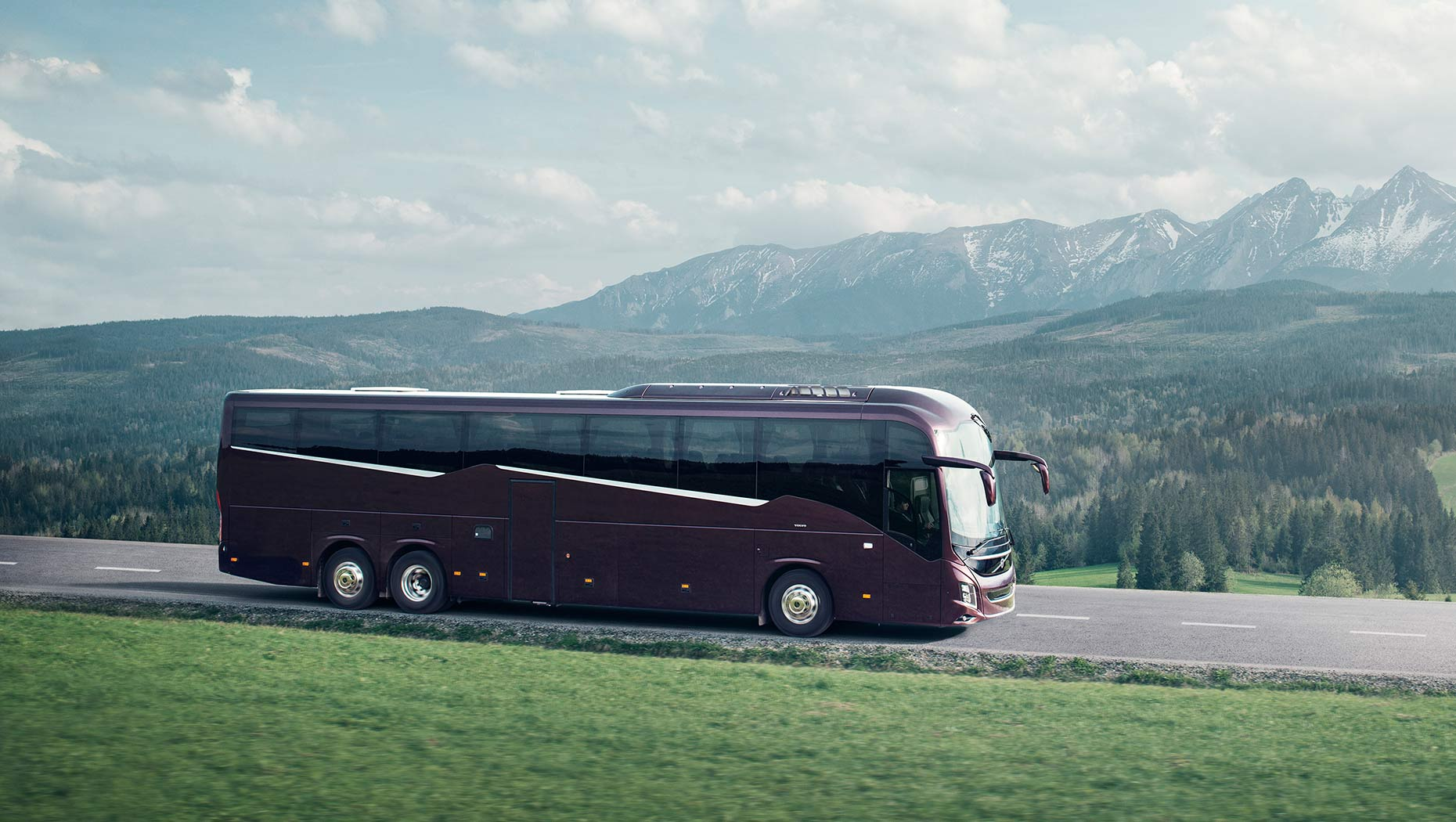 volvo bus images gallery