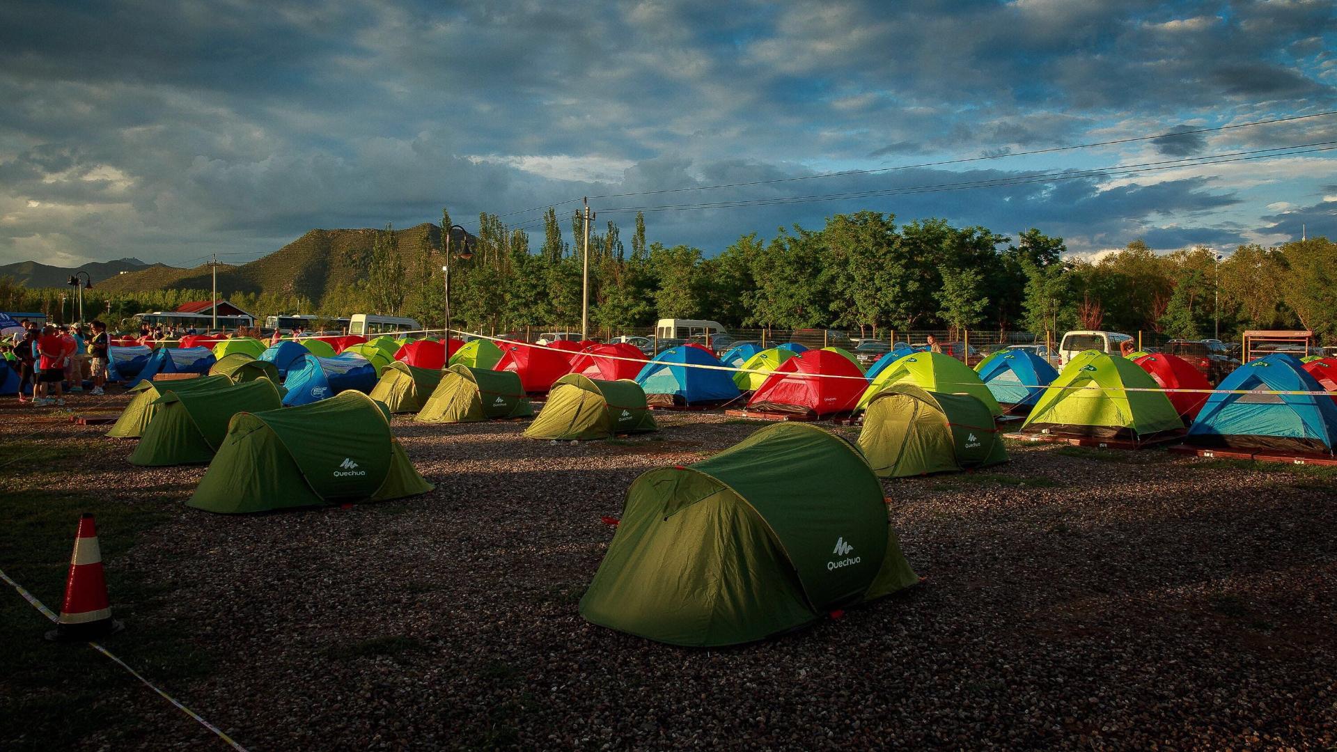 tent camping photos