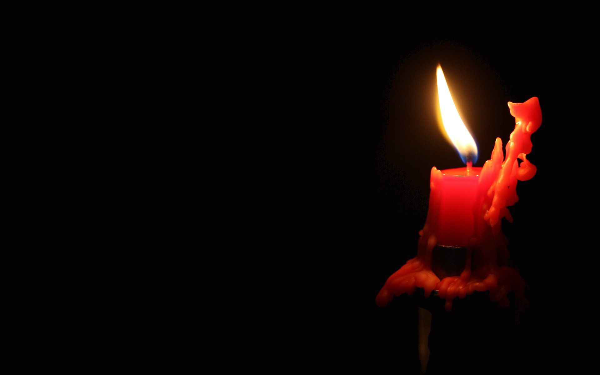 images of candles burning