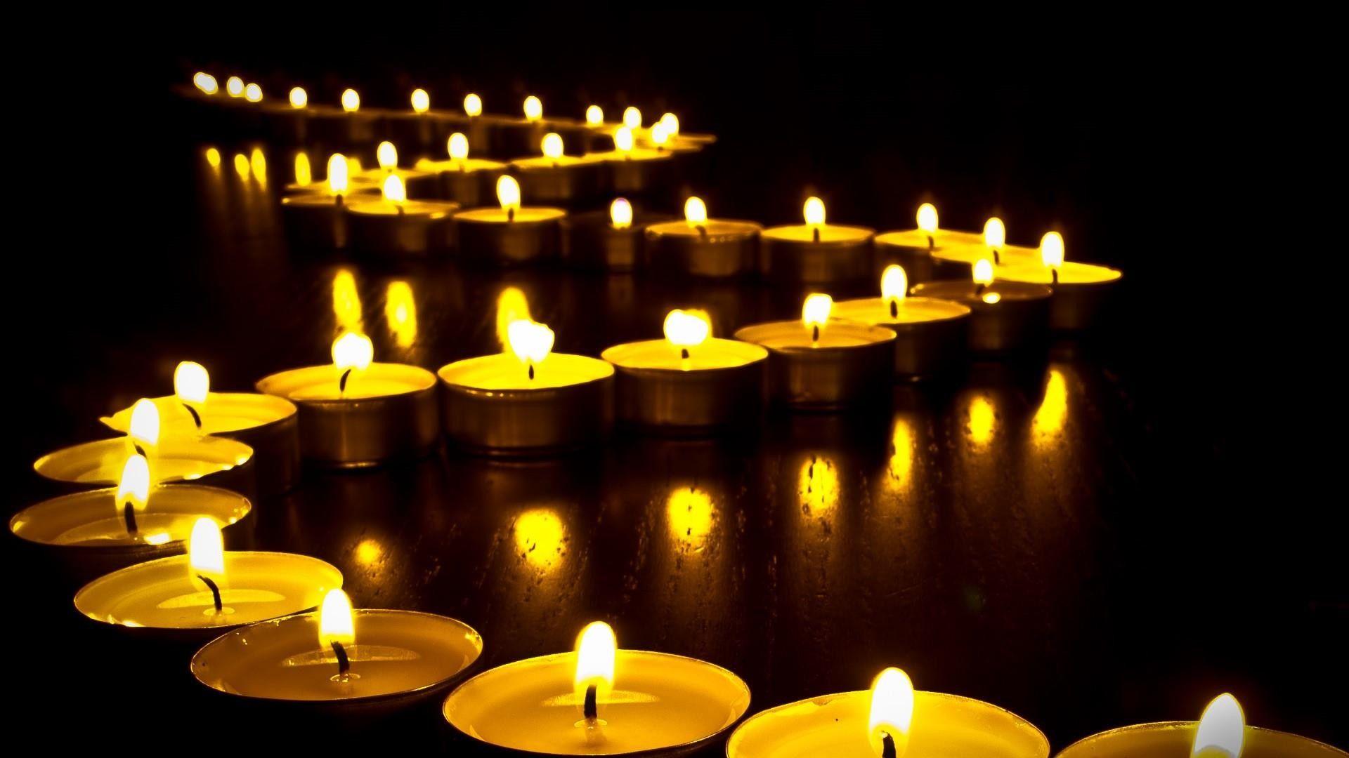 burning candle images