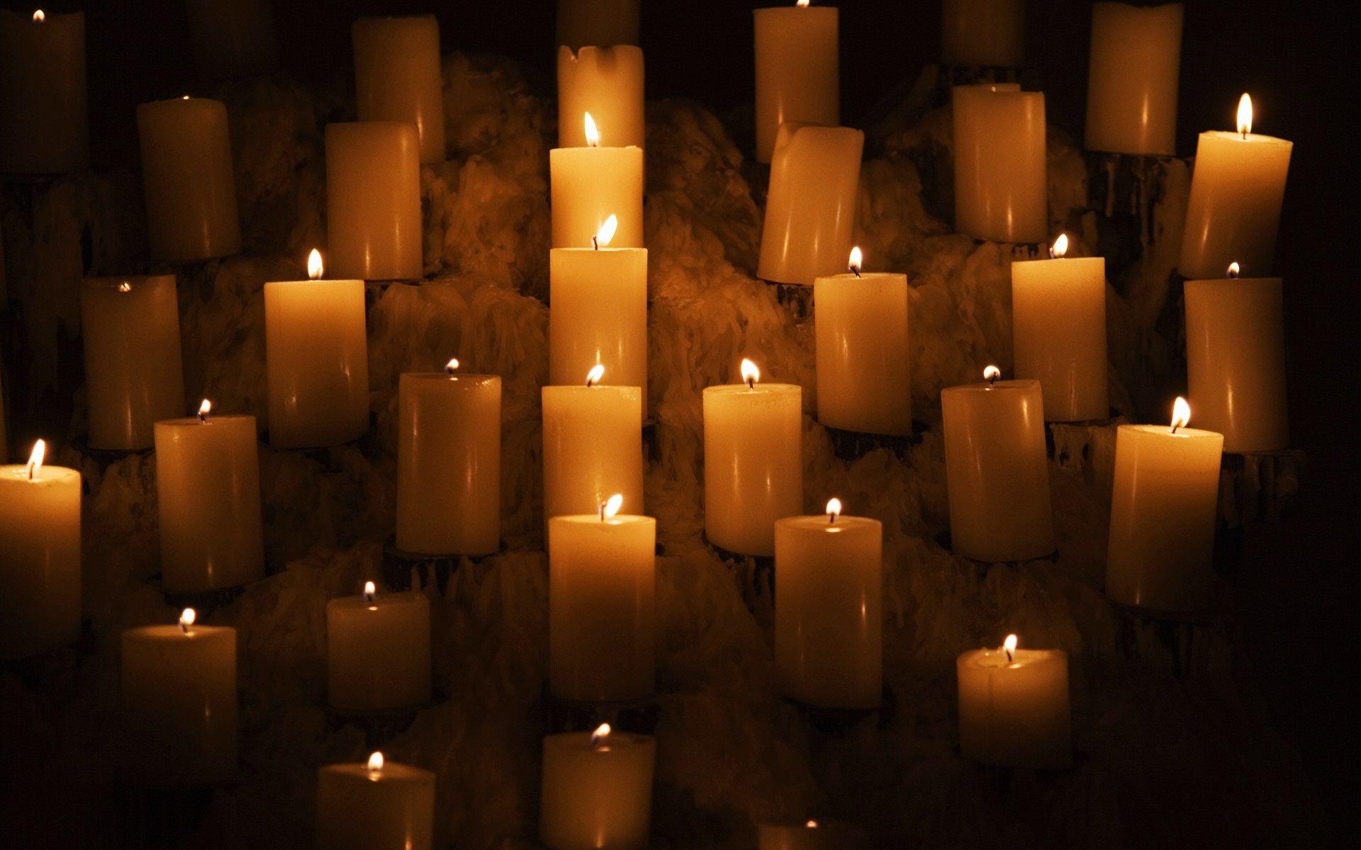 candlelight wallpaper
