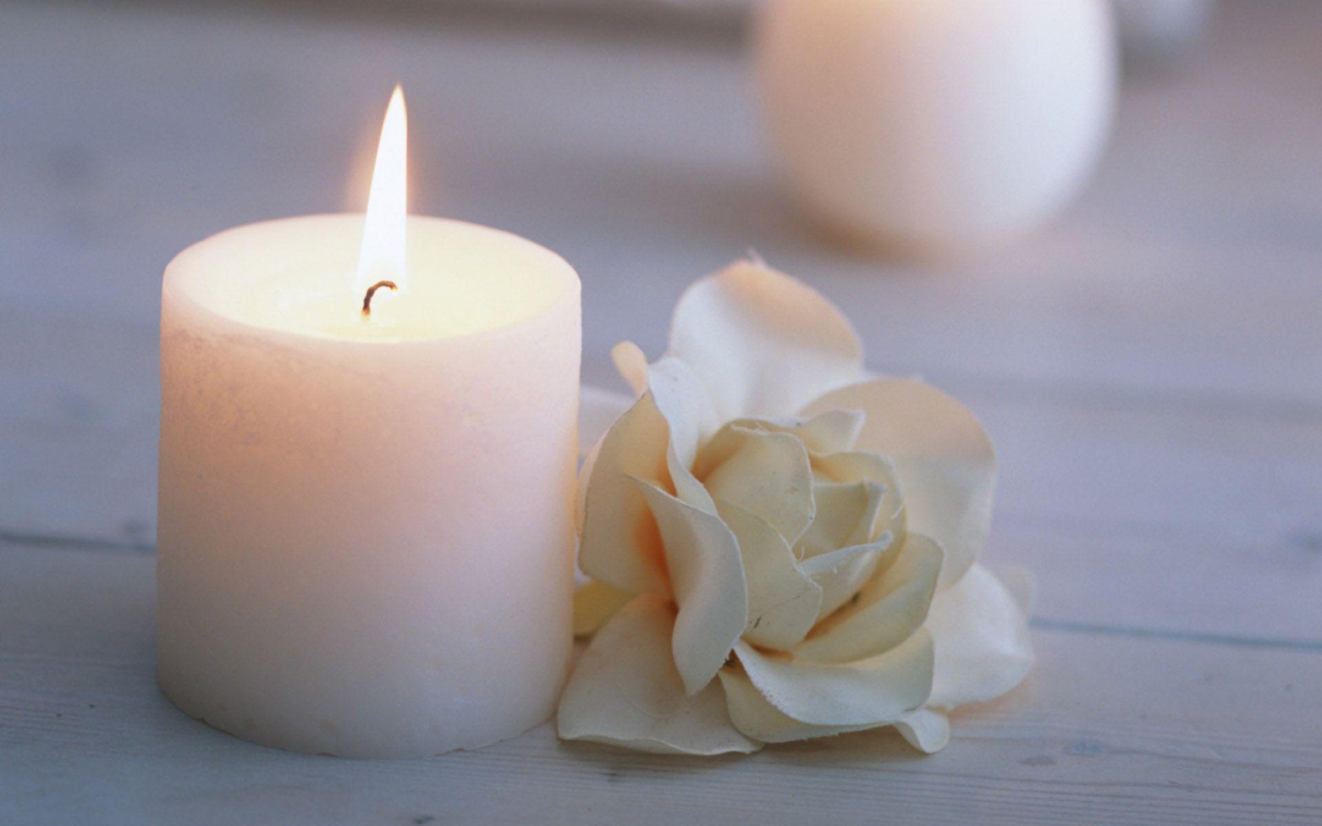 burning candle image