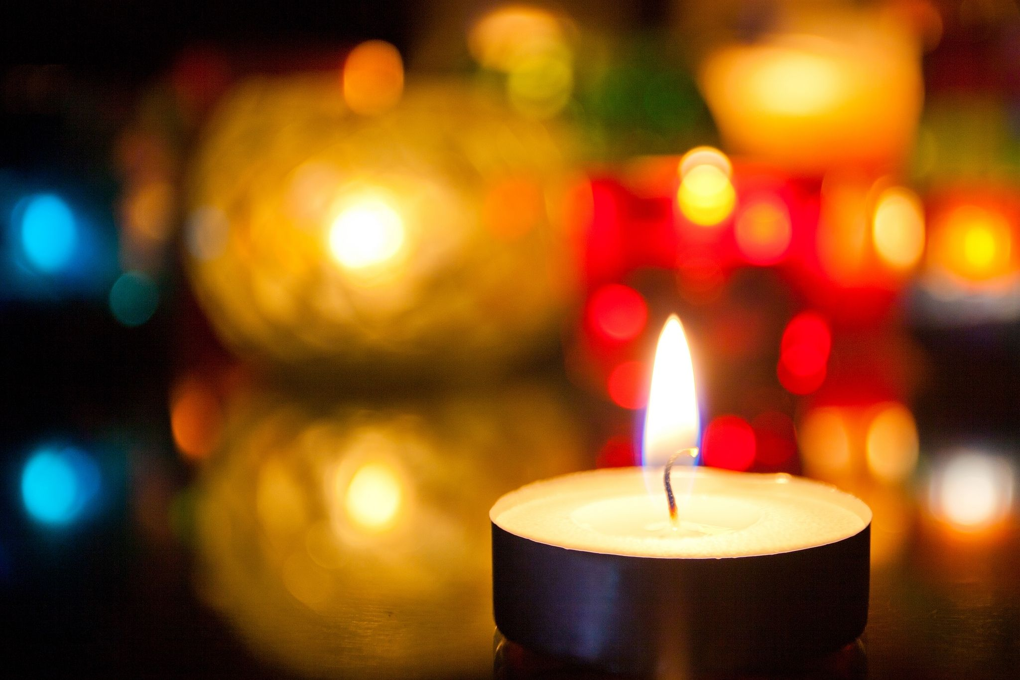 lighted candle images