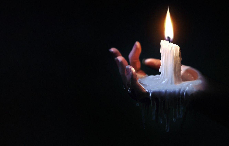 candle light wallpaper