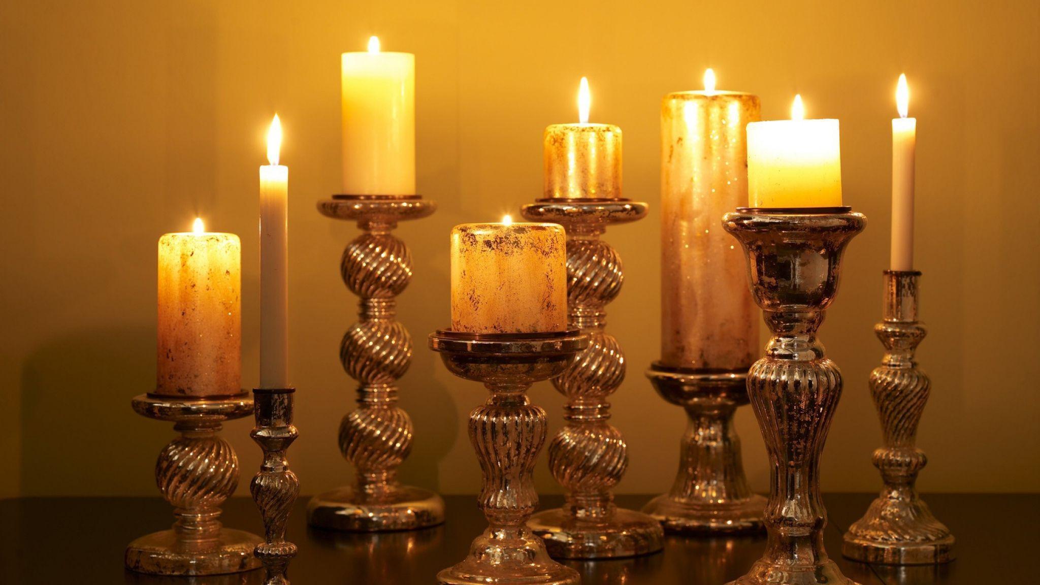 burning candle images free