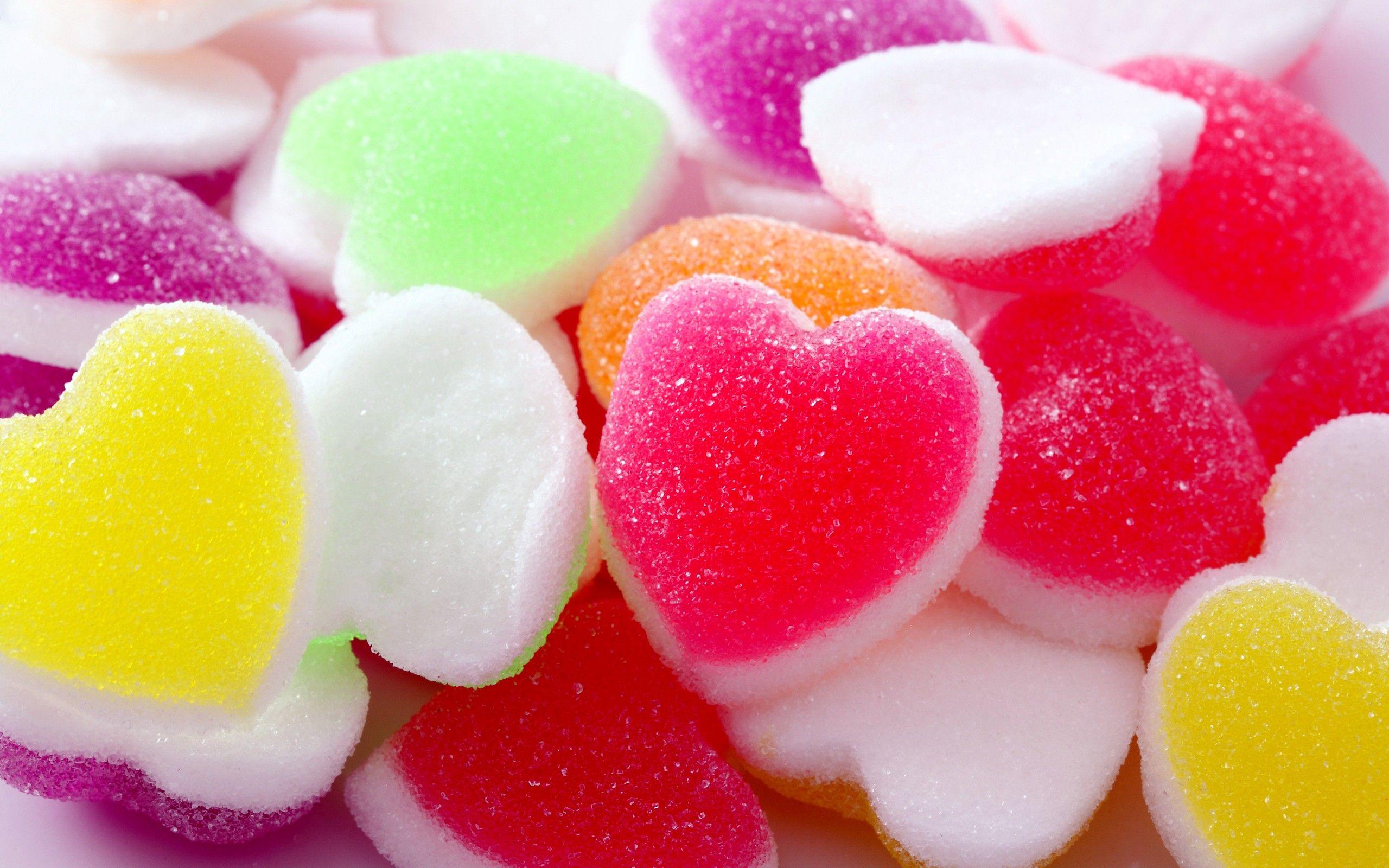 pastel candy wallpaper