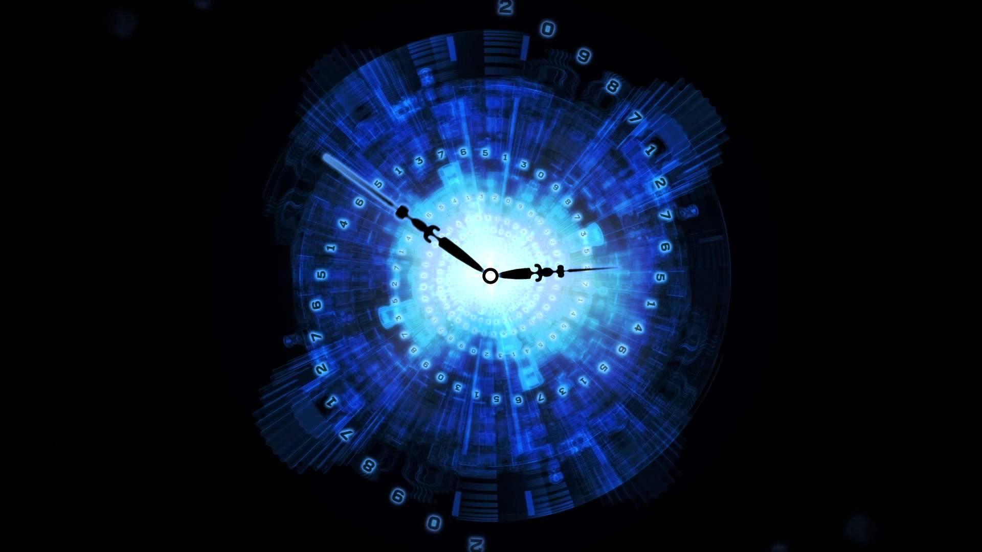 clock wallpaper hd