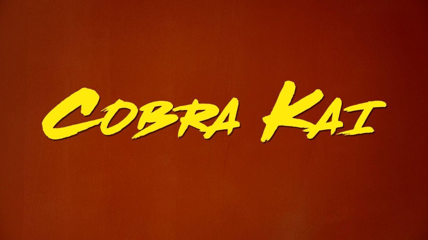 cobra kai background