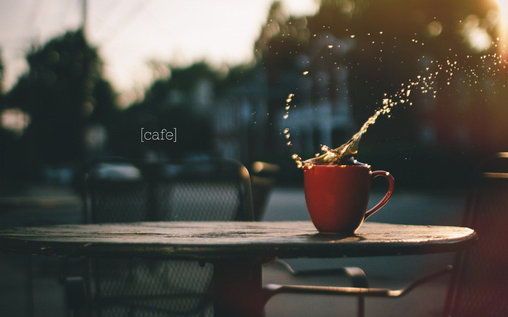 coffee screensaver 4k