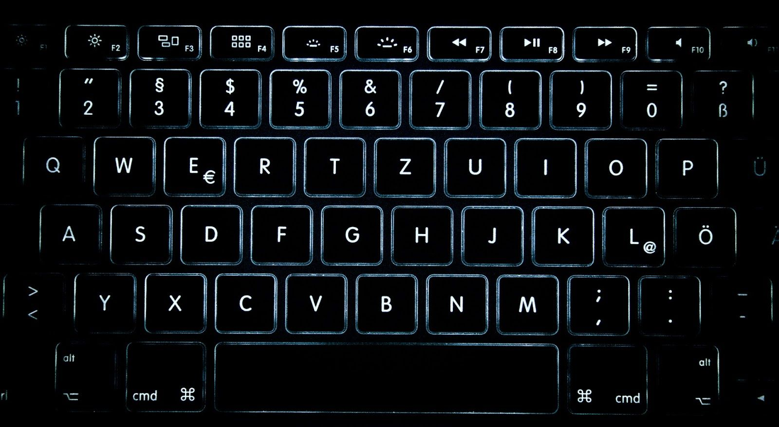 picture of standard keyboard
