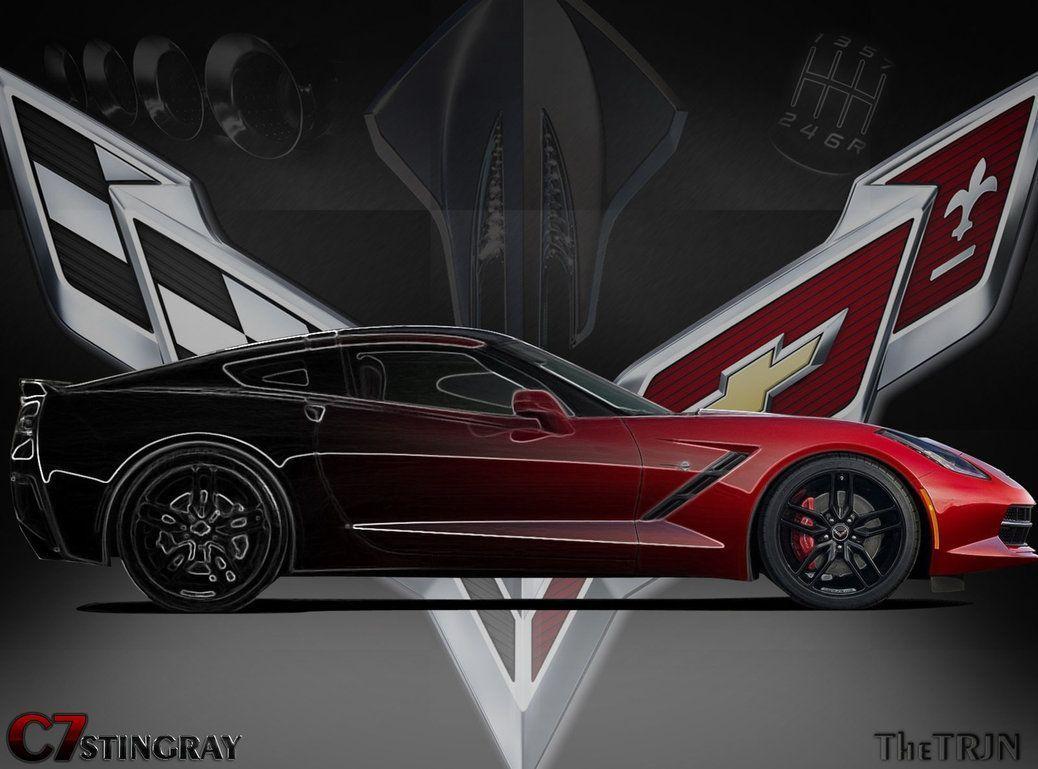 corvette background