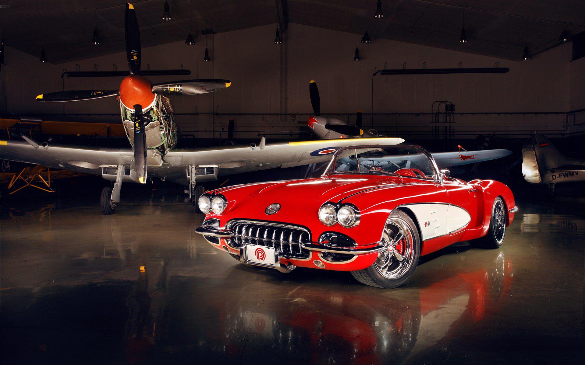 chevrolet corvette wallpapers